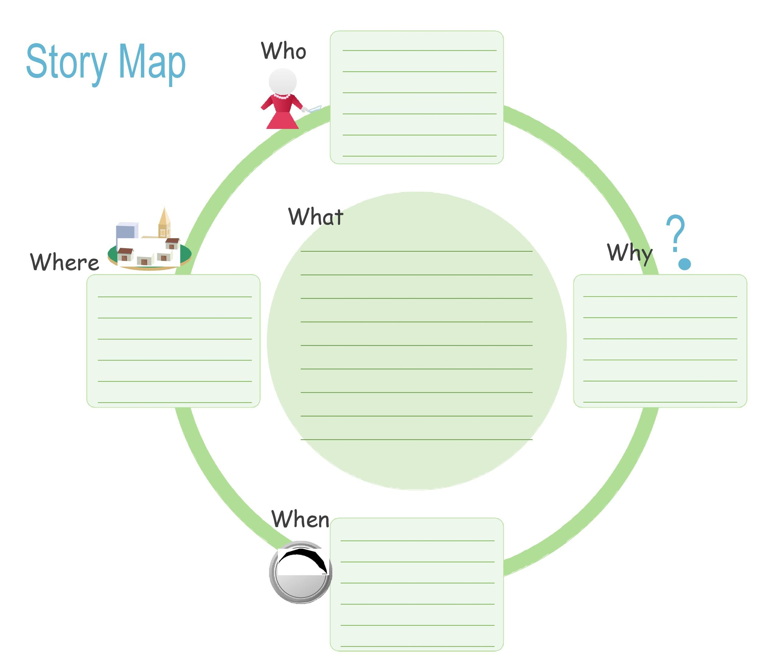 photograph regarding Story Map Template Printable named 41 Cost-free Printable Tale Map Templates [PDF / Term] ᐅ