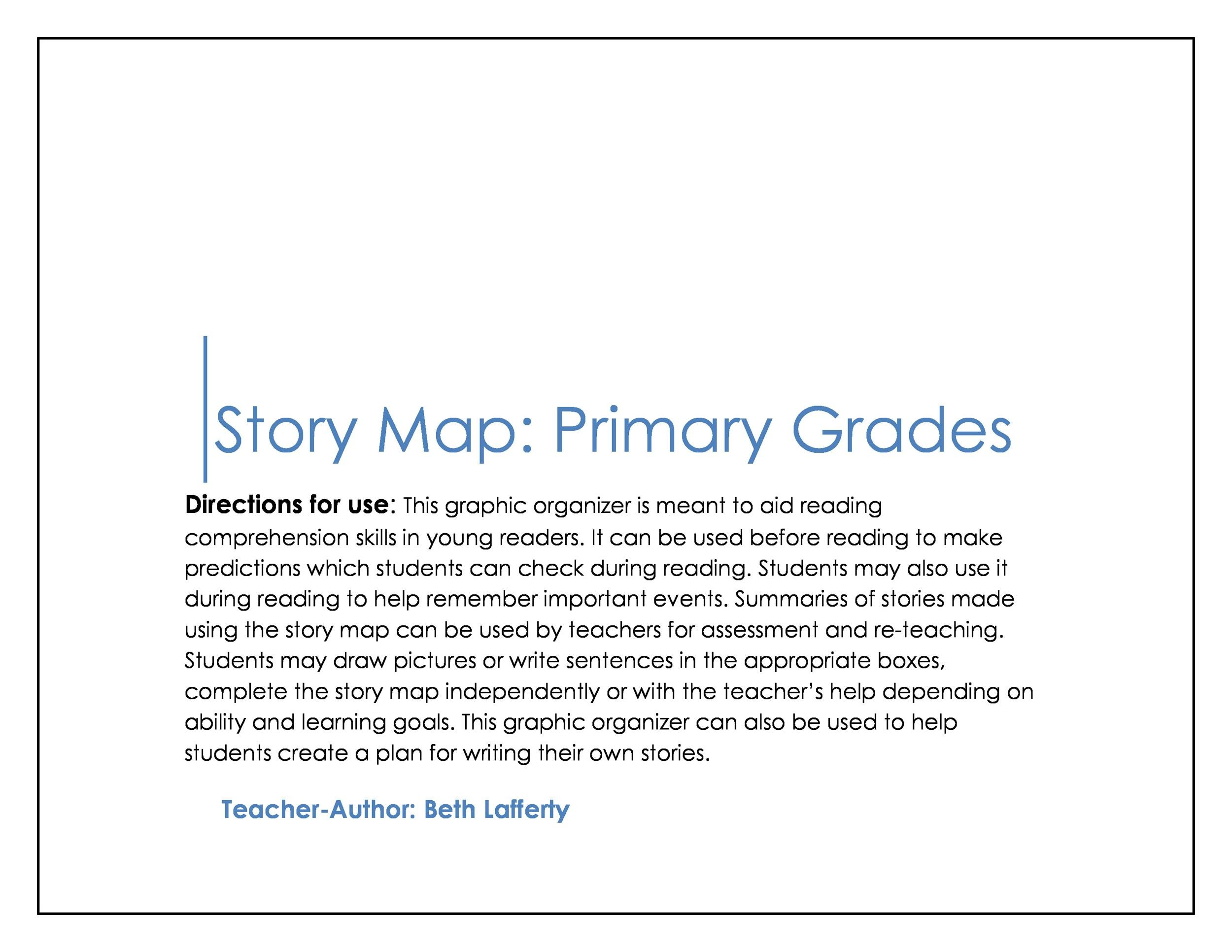 image regarding Free Printable Story Map identified as 41 Cost-free Printable Tale Map Templates [PDF / Term] ᐅ