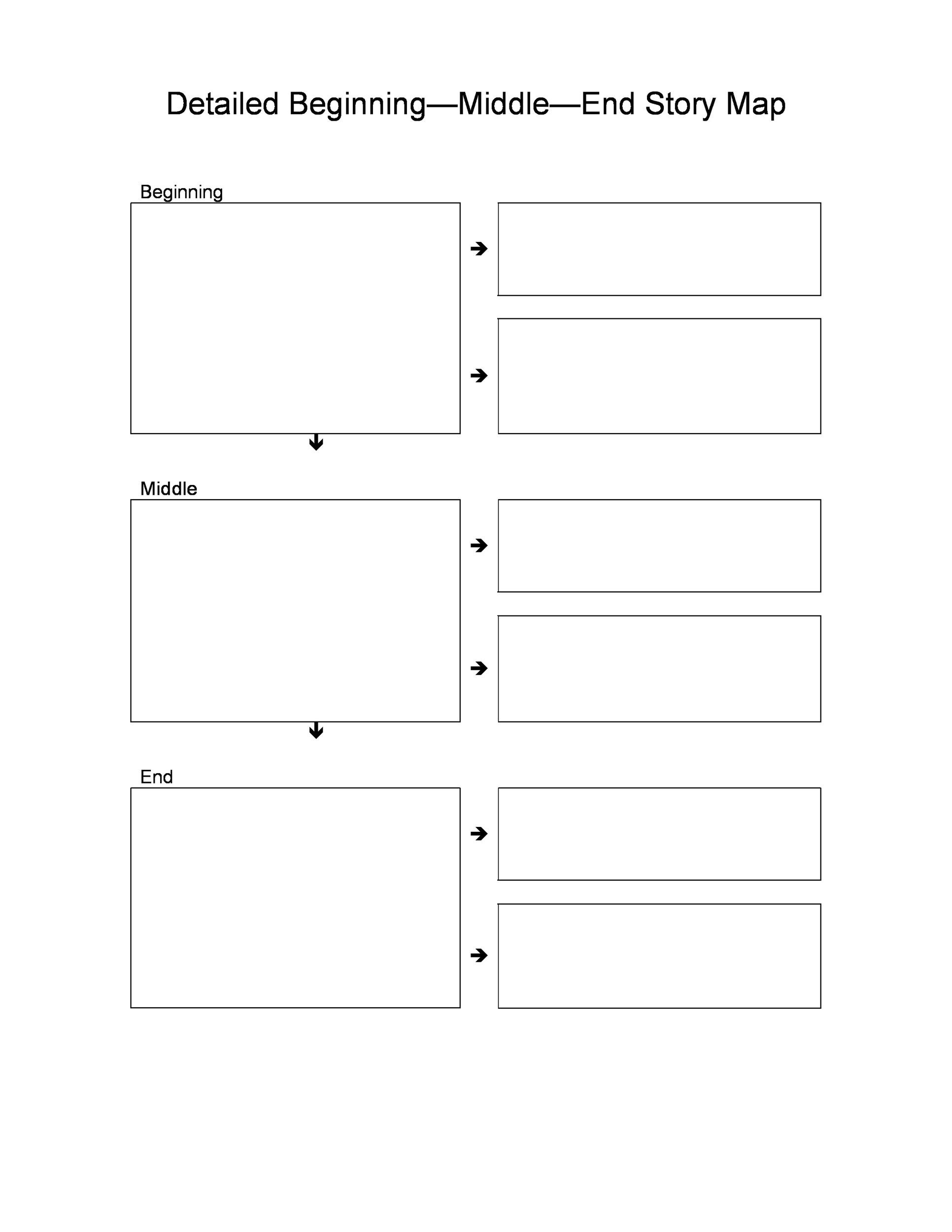 photo regarding Printable Story Maps referred to as 41 No cost Printable Tale Map Templates [PDF / Term] ᐅ