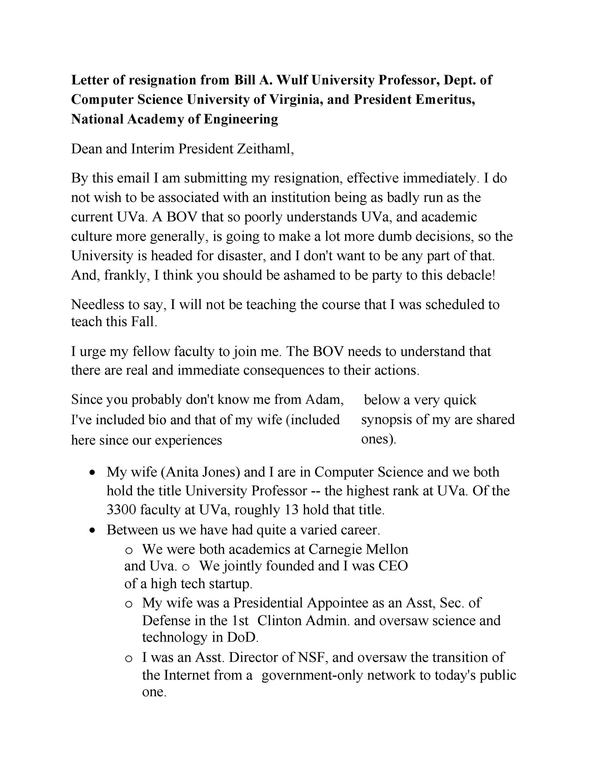 Free teacher resignation letter 49