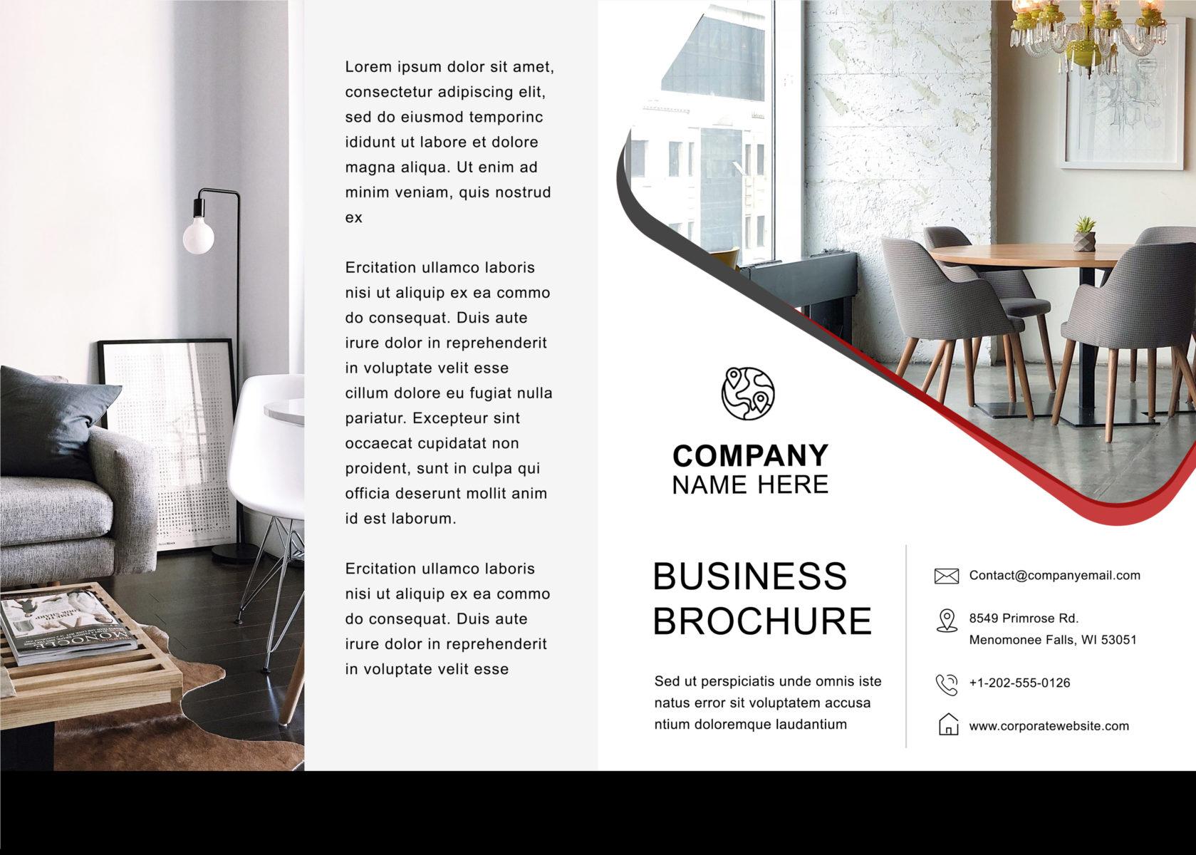 Free Bifold Brochure Template 1