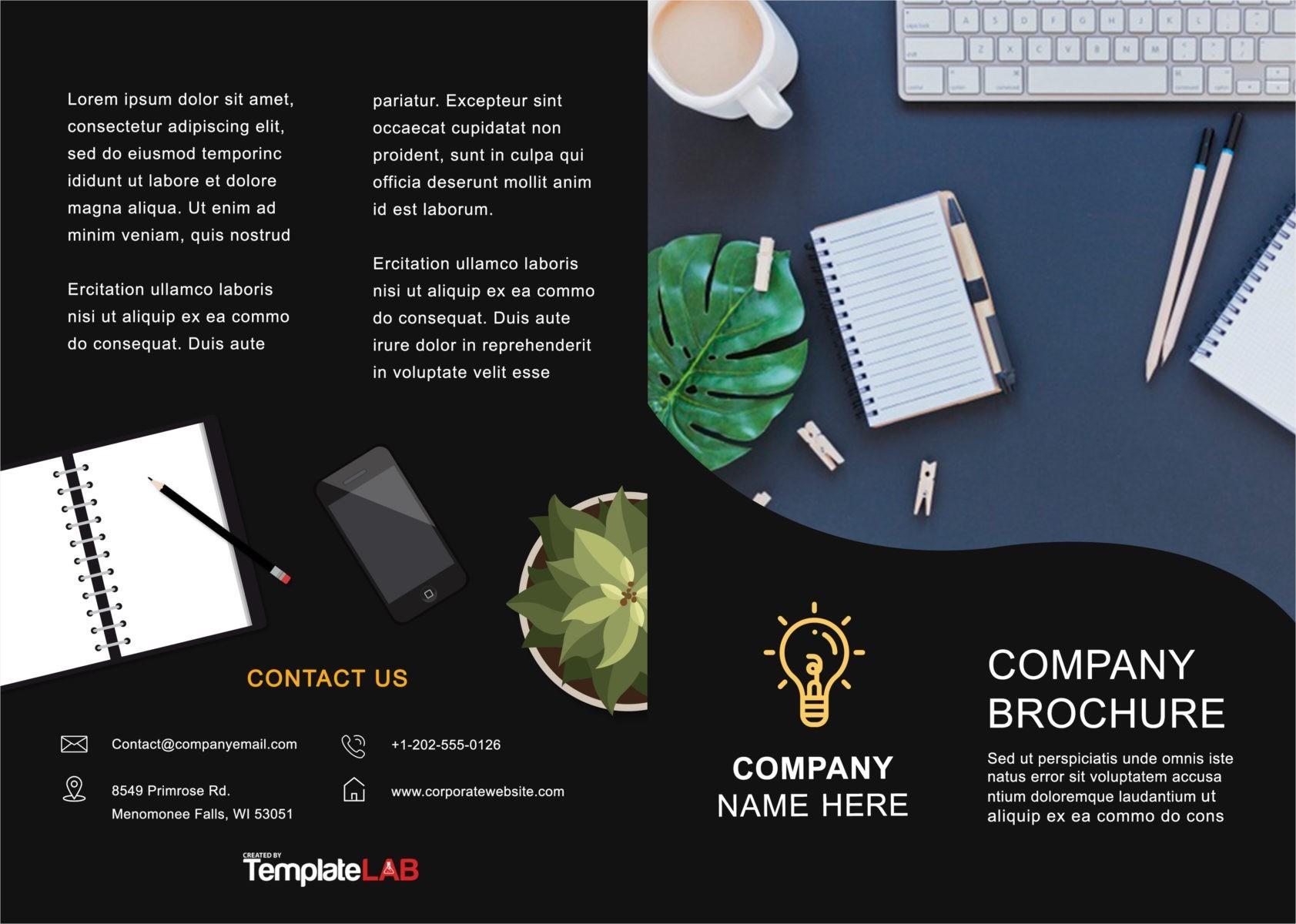 Free Bifold Brochure Template 4