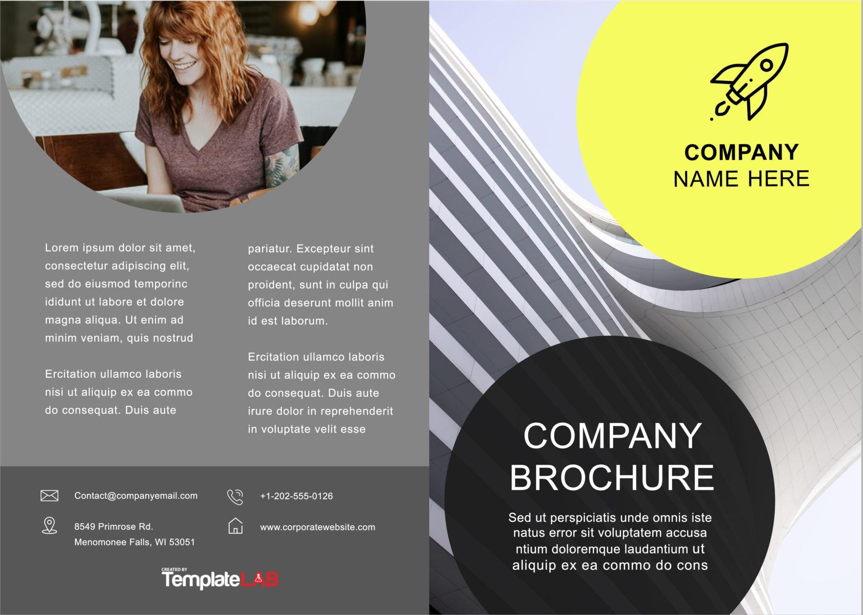 Free Bifold Brochure Template 5