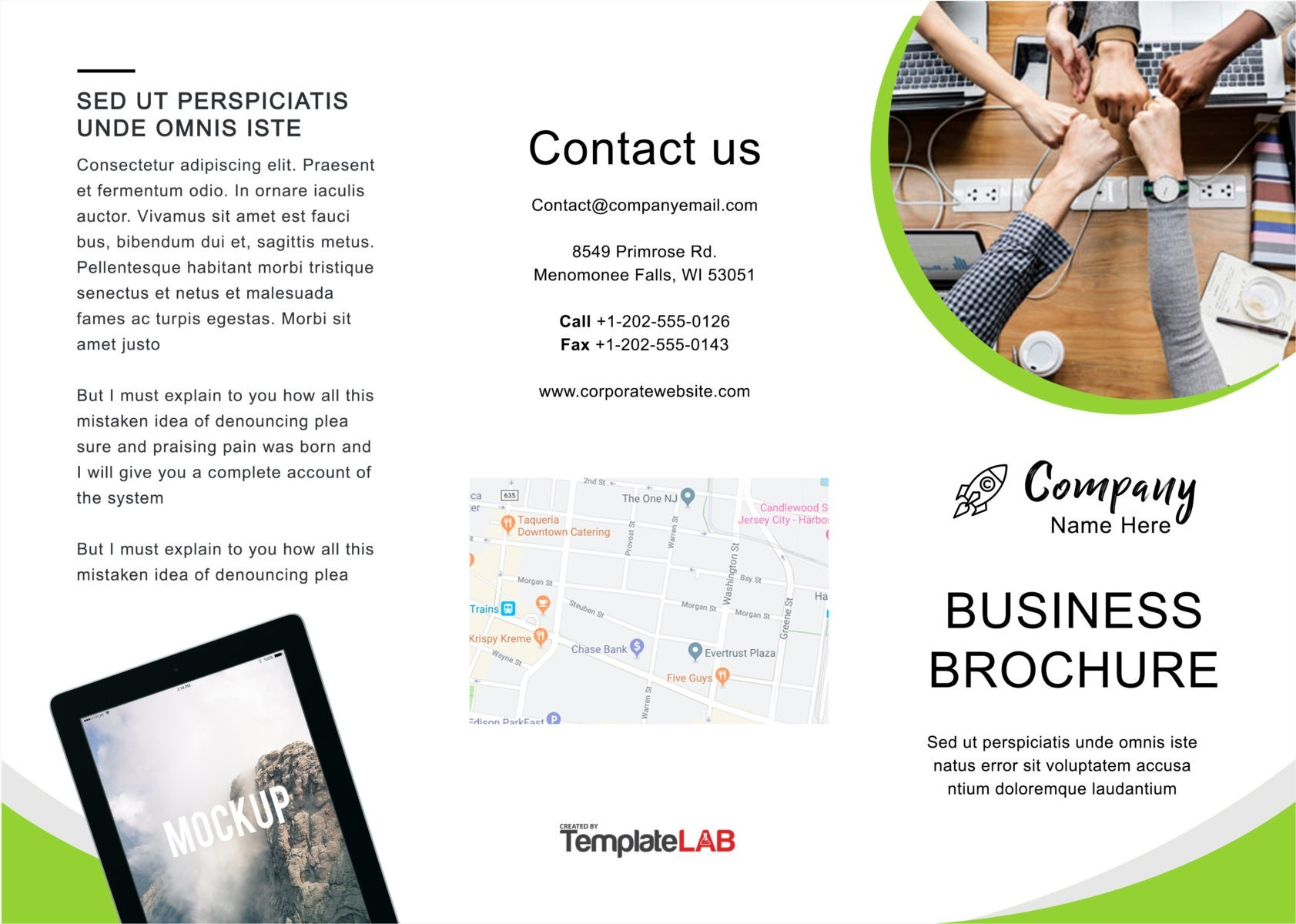 Free Trifold Brochure Template 03