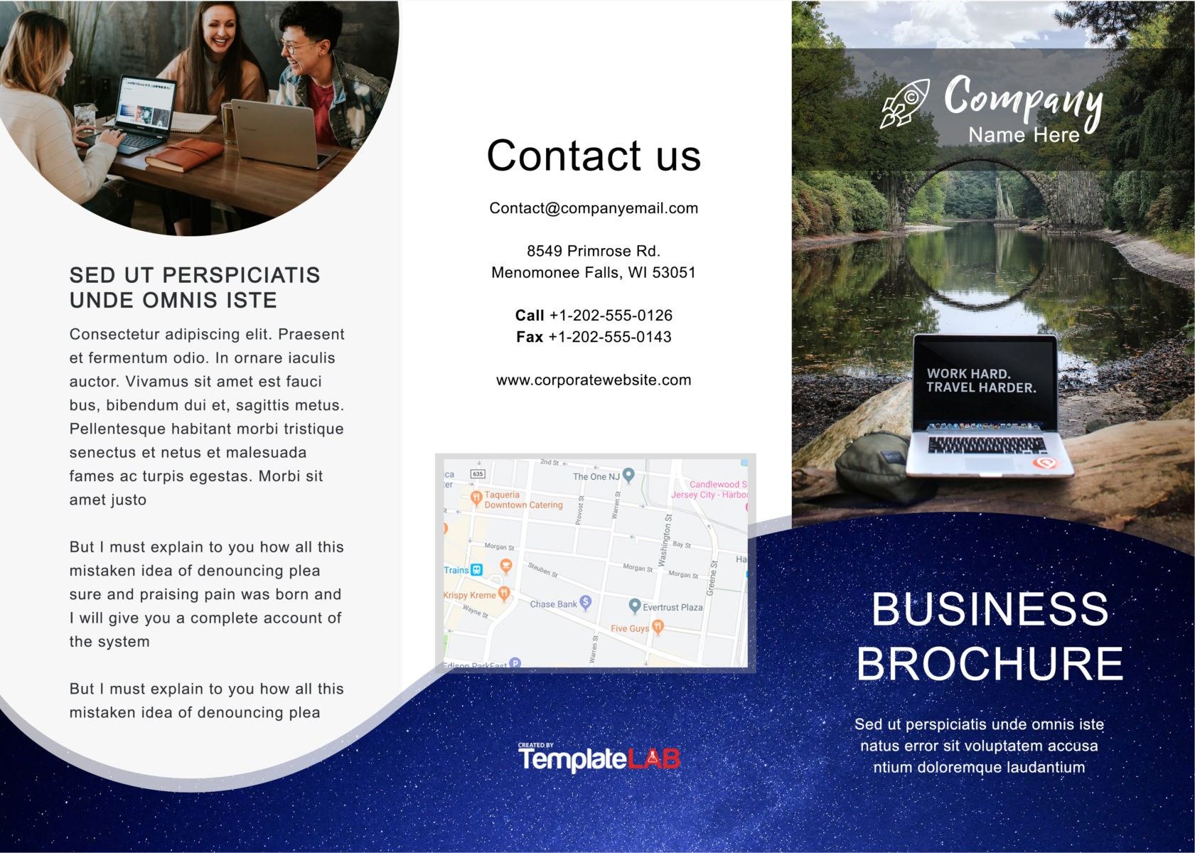 Free Trifold Brochure Template 05