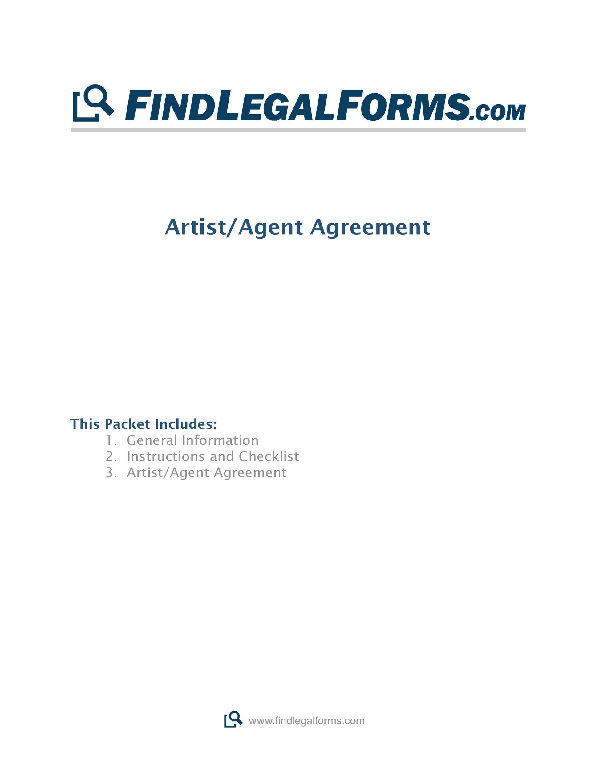 Free artist management contract 22
