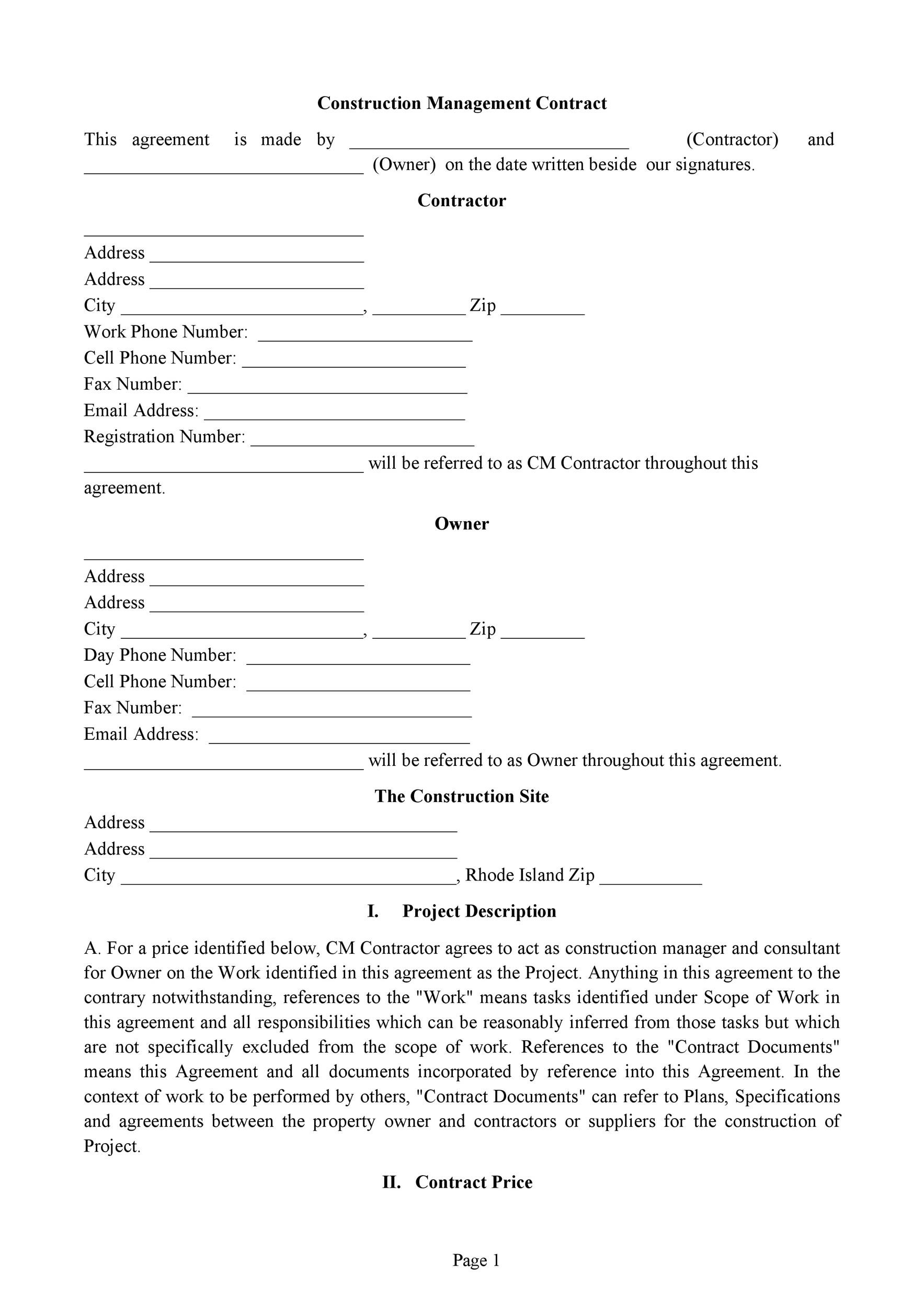 Free artist management contract 47