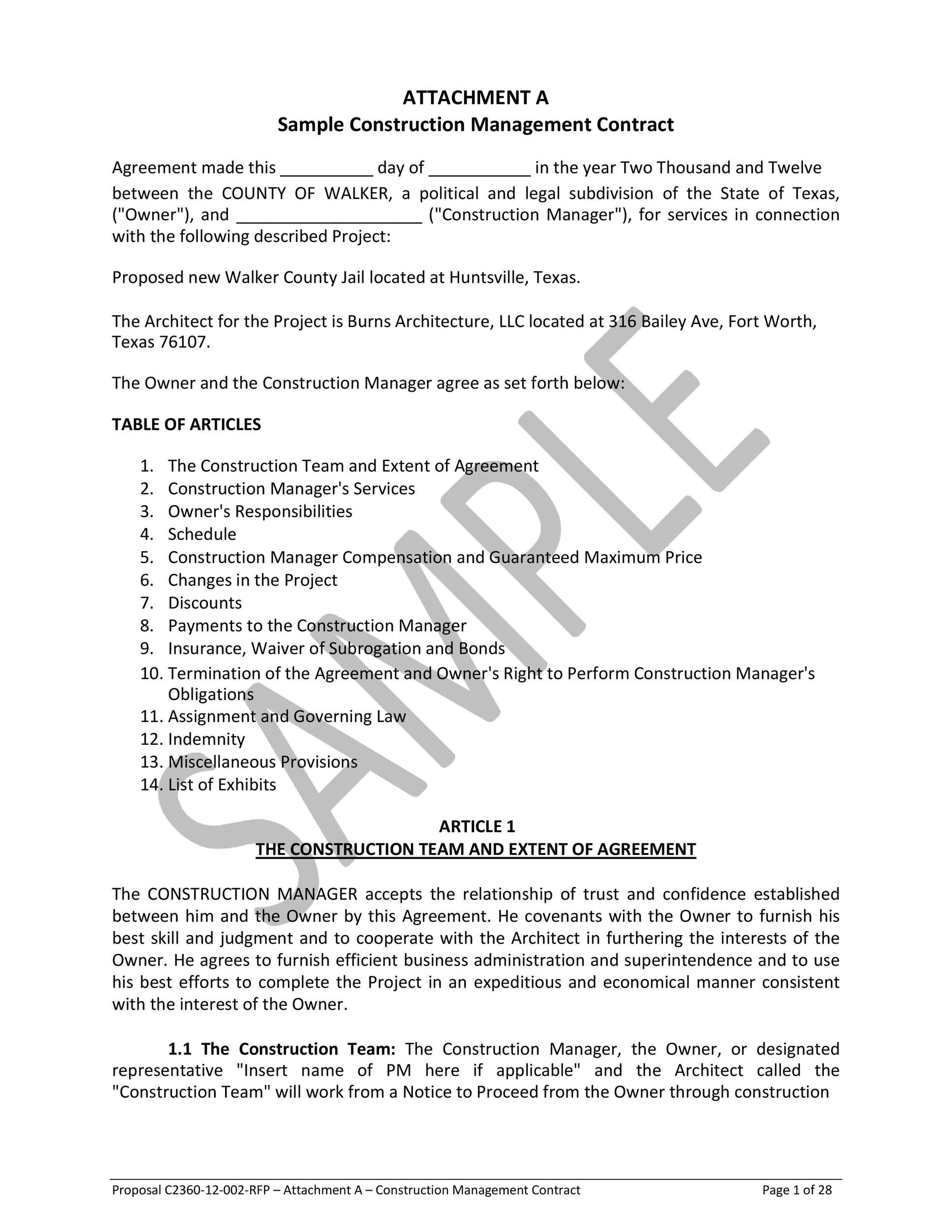 Free artist management contract 49