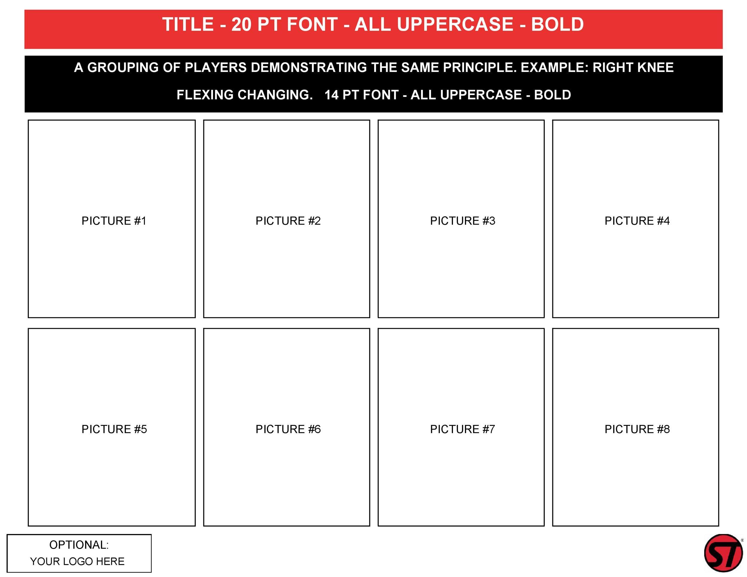 Free catalog template 13