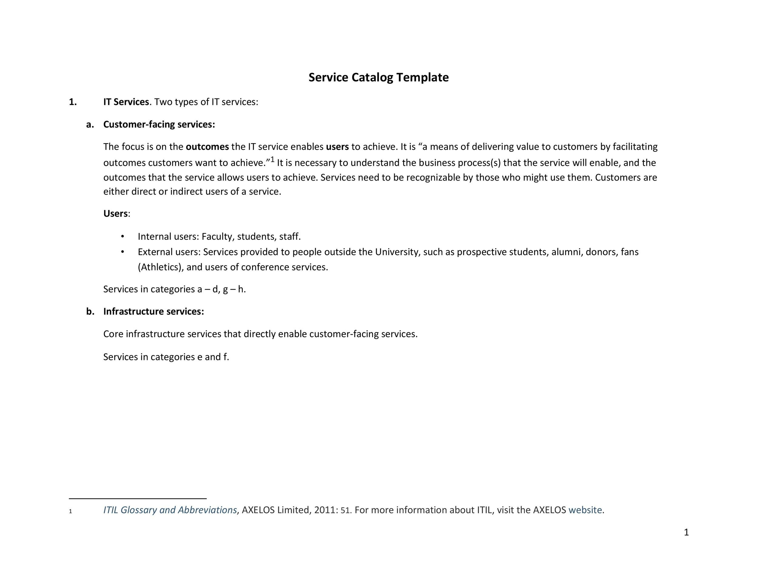 Free catalog template 20