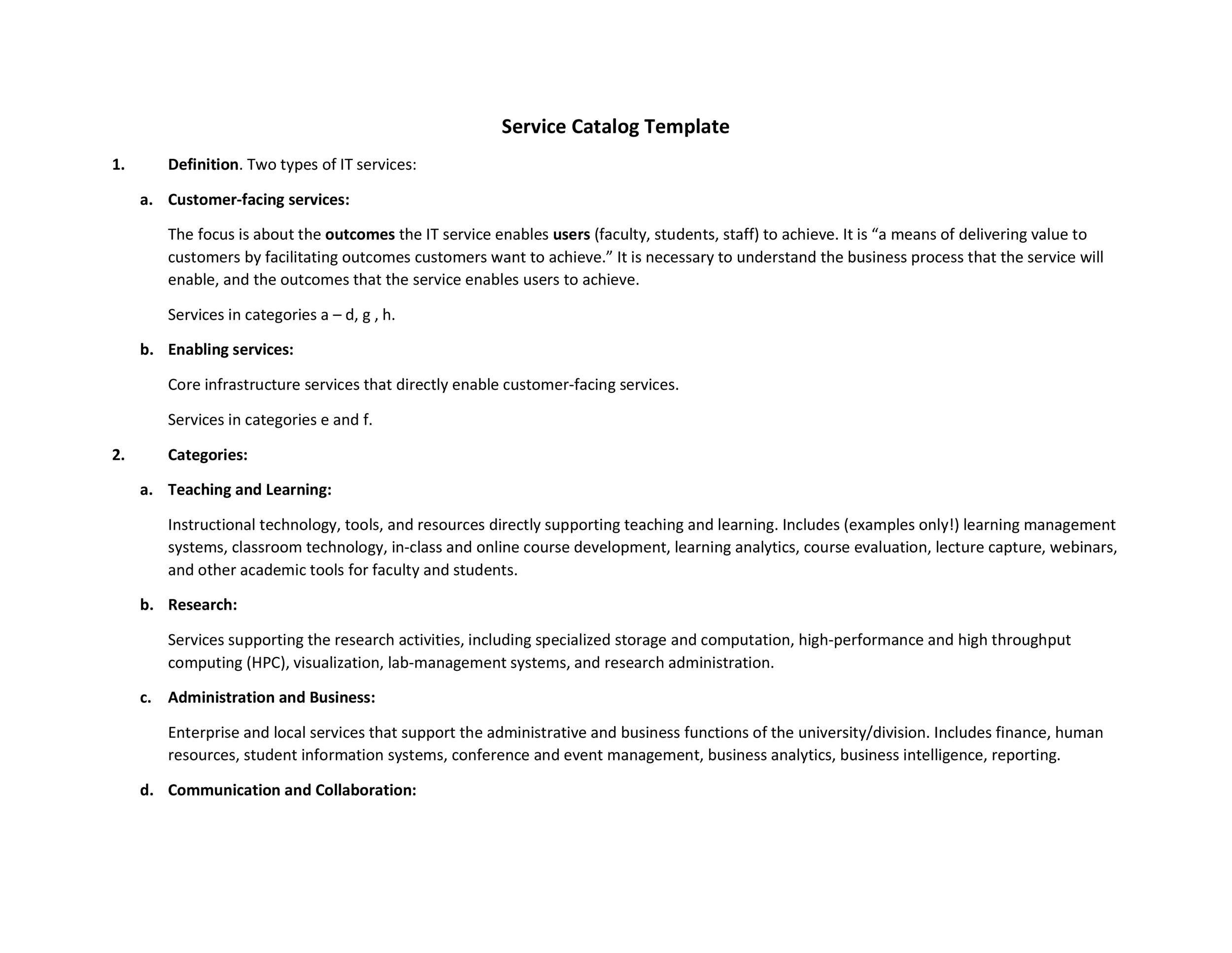 Free catalog template 22
