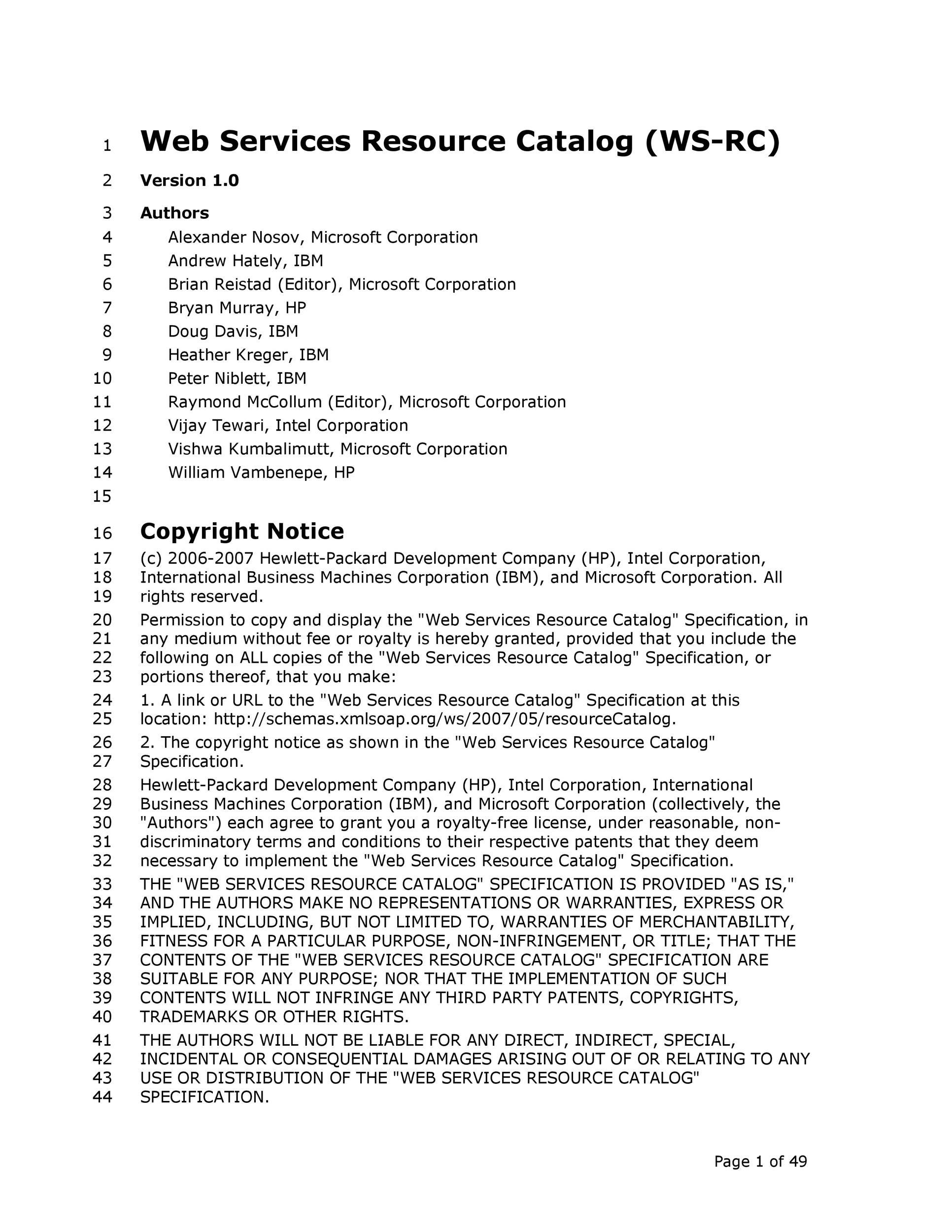 Free catalog template 43