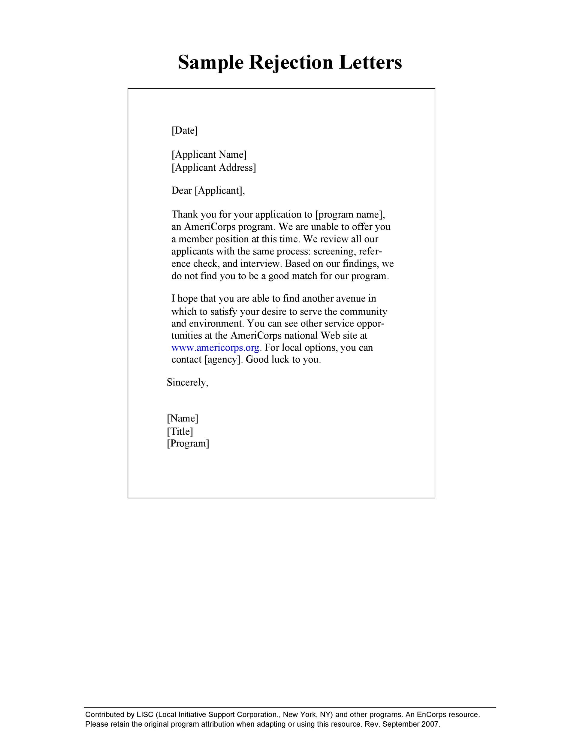 Free college rejection letter 01