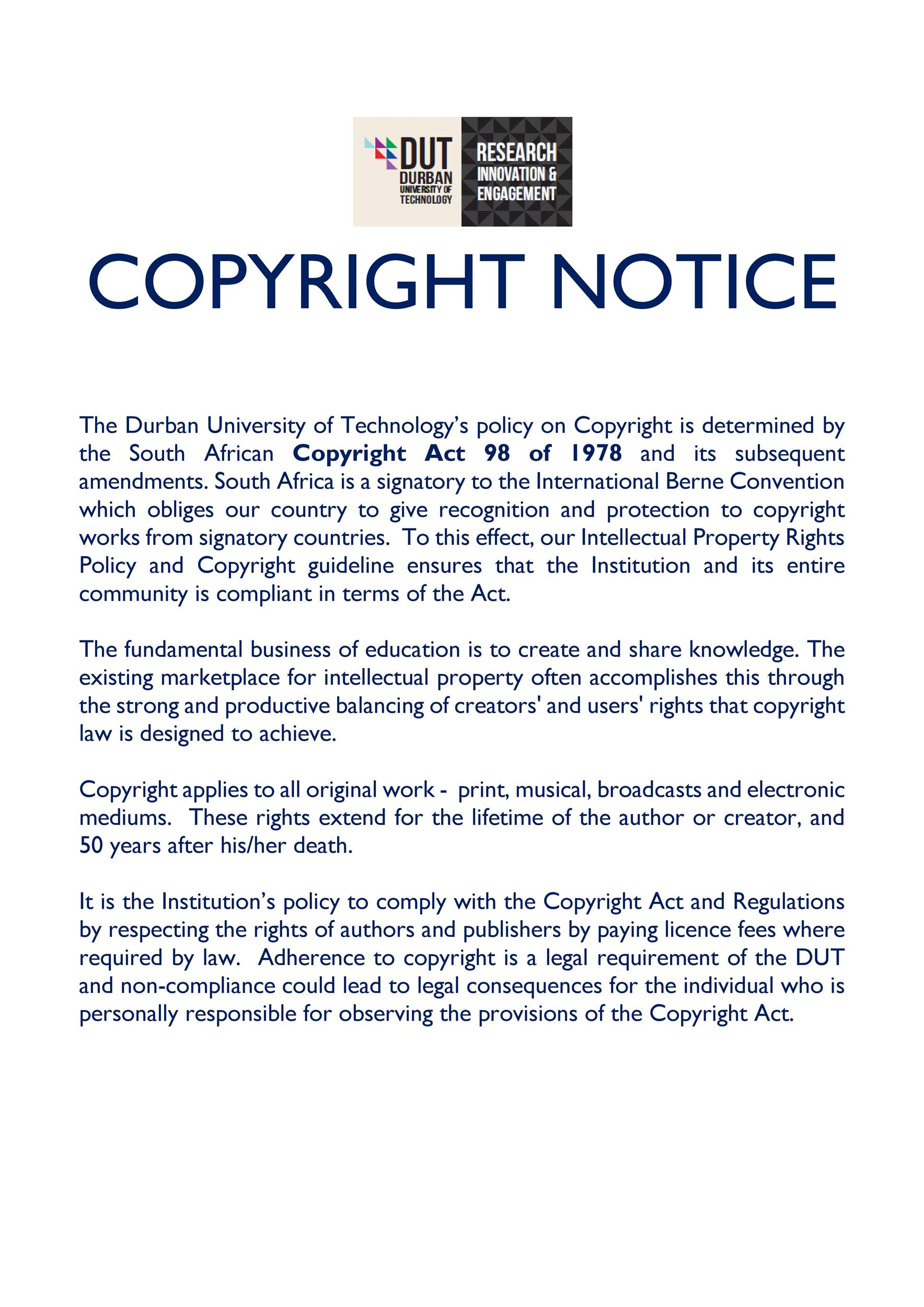 Free copyright notice example 17