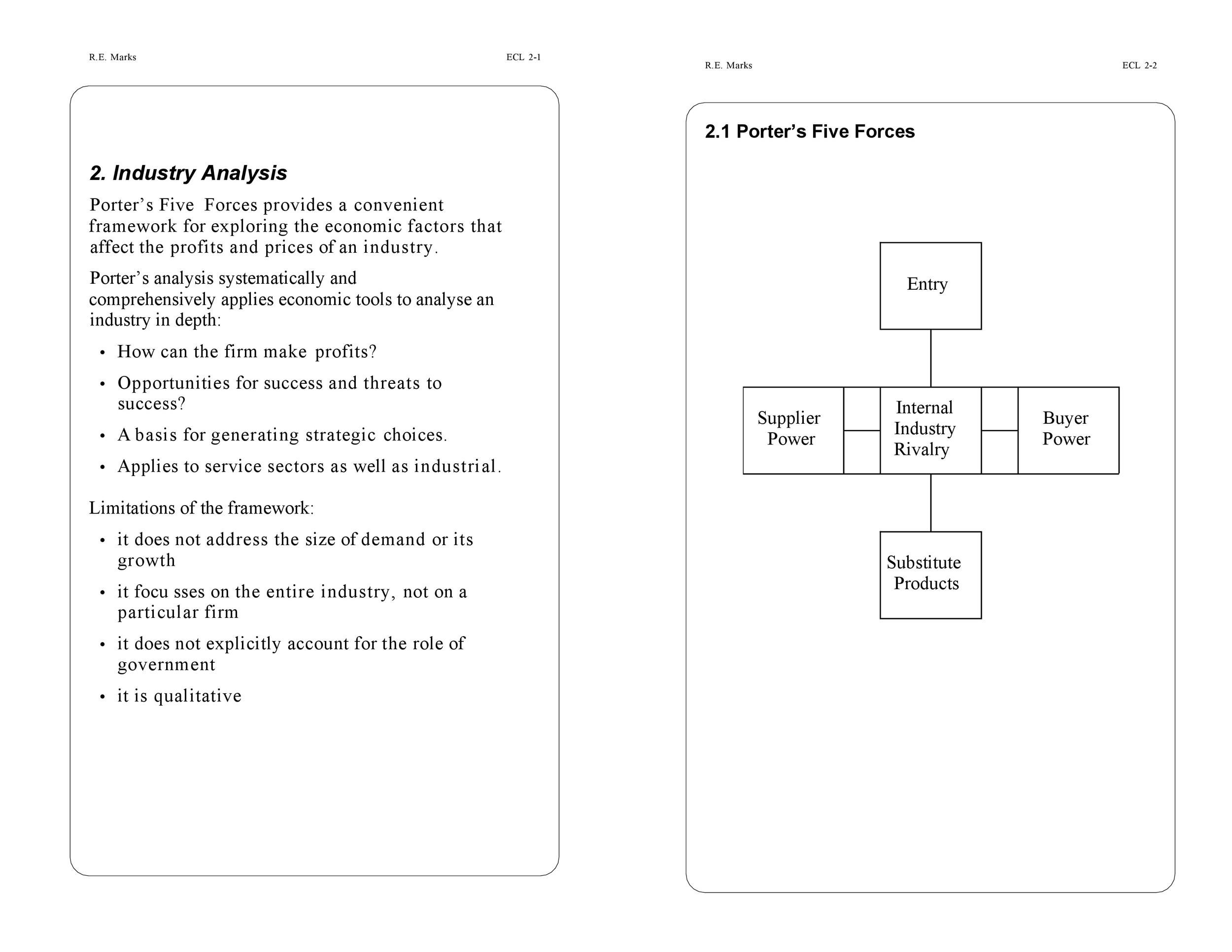 Free industry analysis example 04