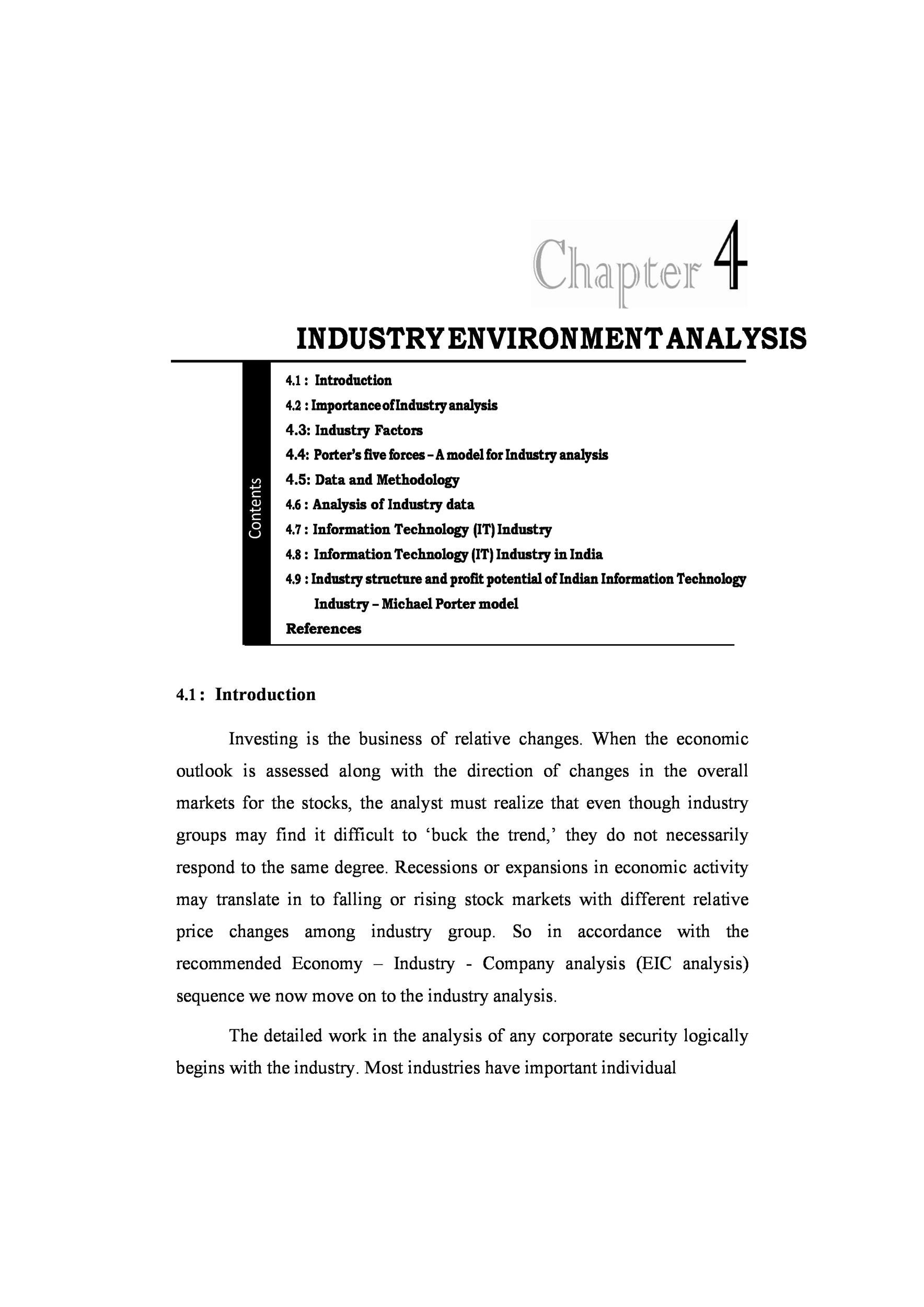 Free industry analysis example 08