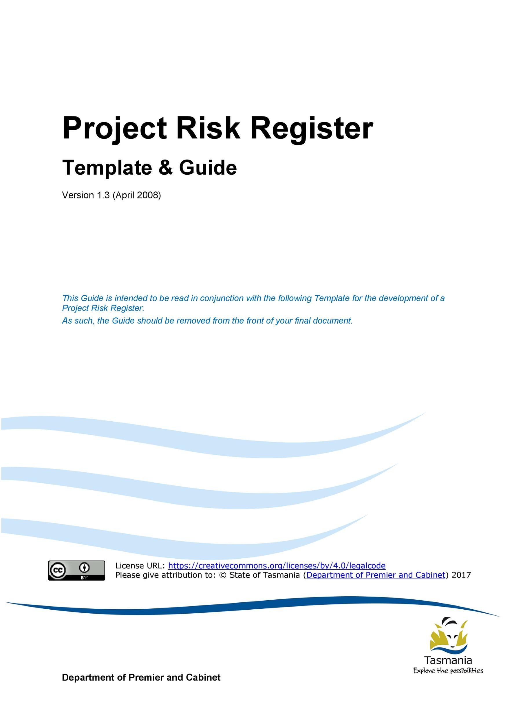 Free risk register template 01