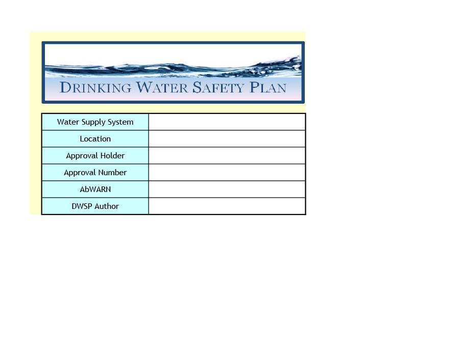 Free safety plan template 13