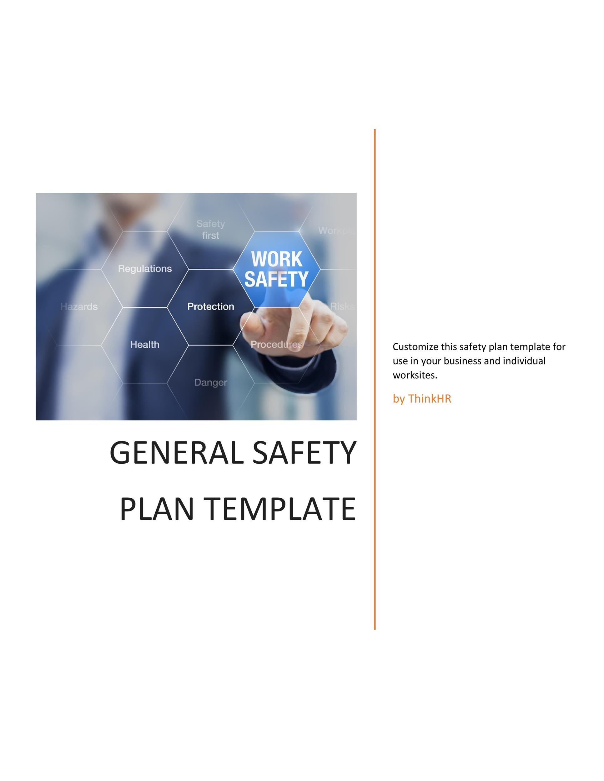 Free safety plan template 17