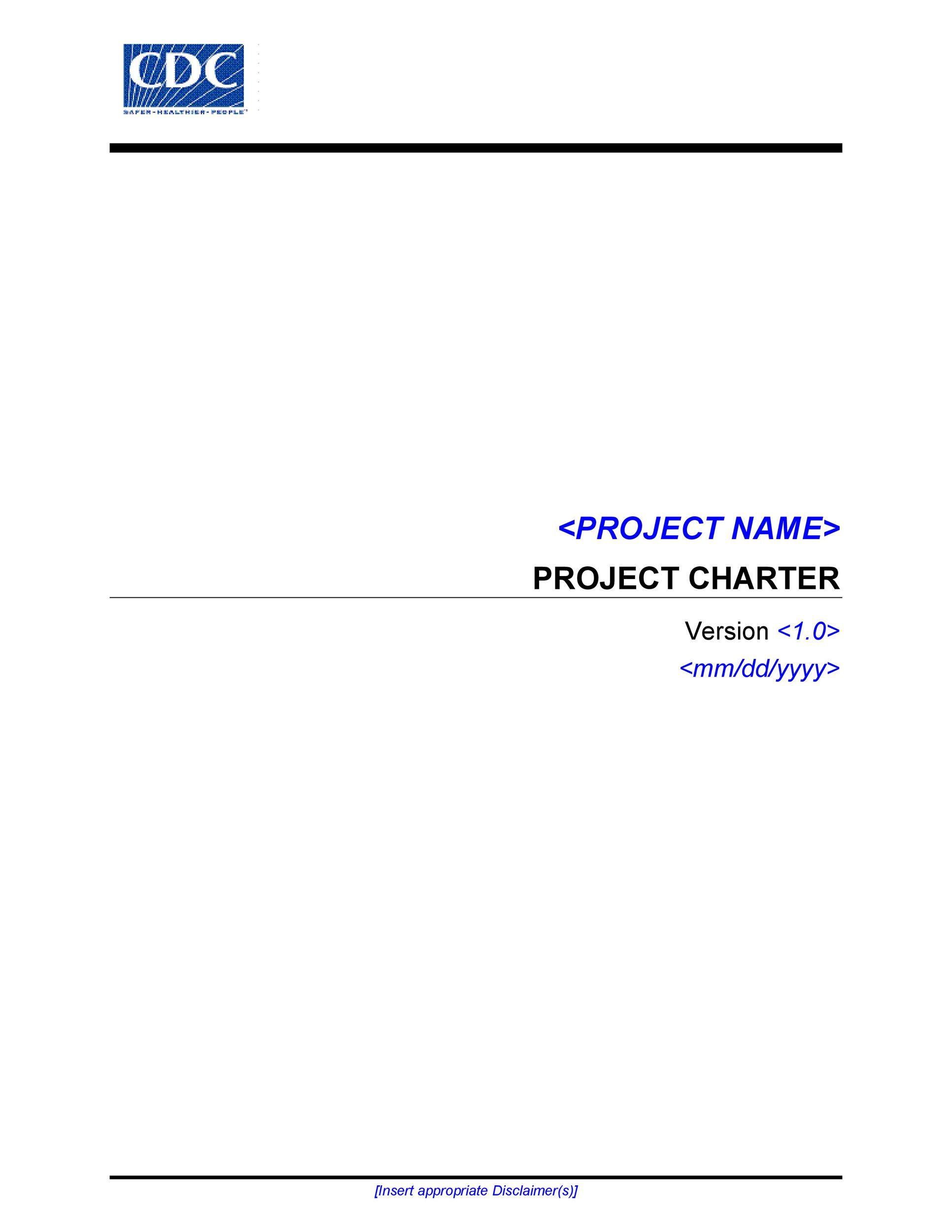 Free team charter template 36