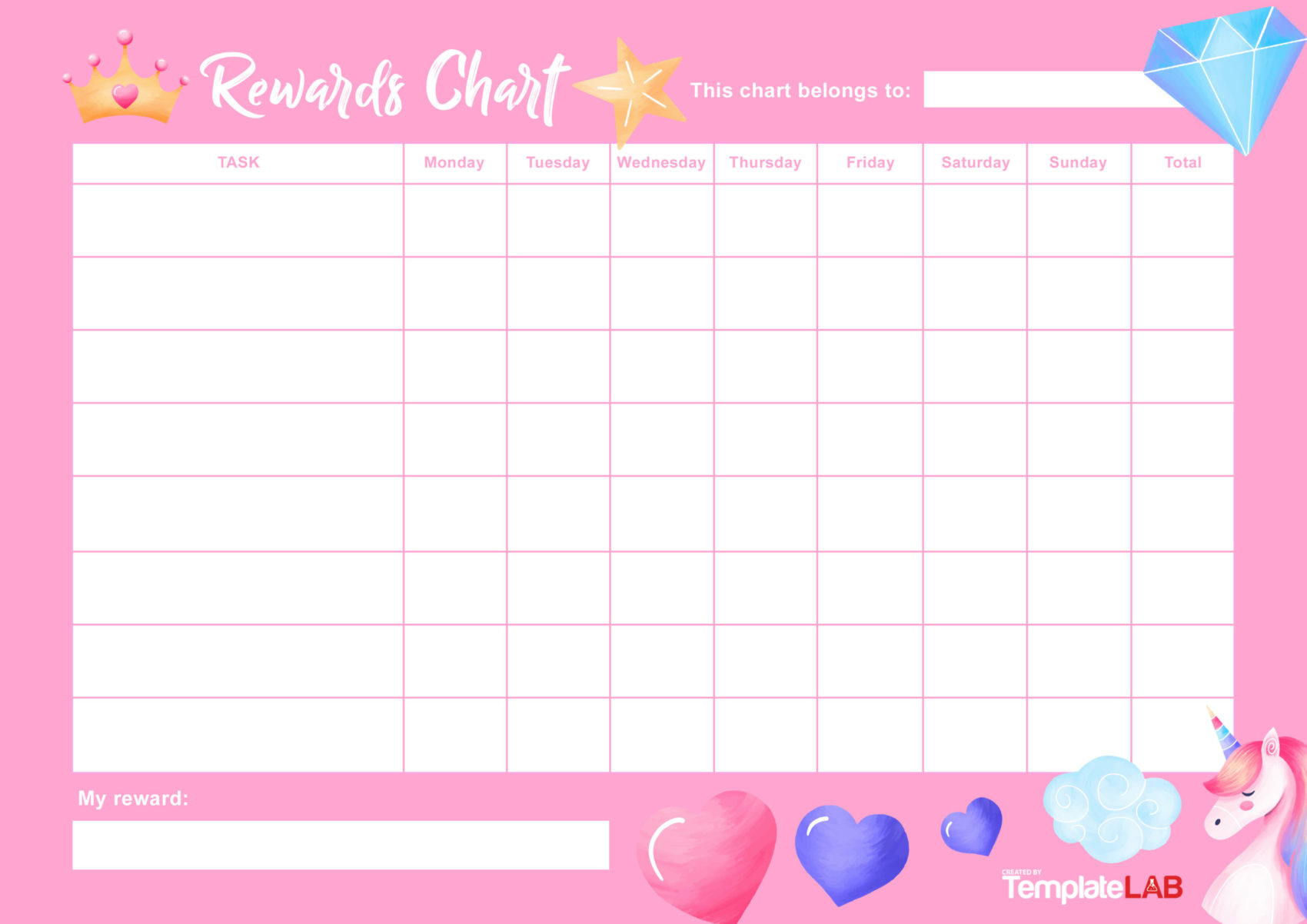 It is an image of Selective Free Printable Incentive Charts