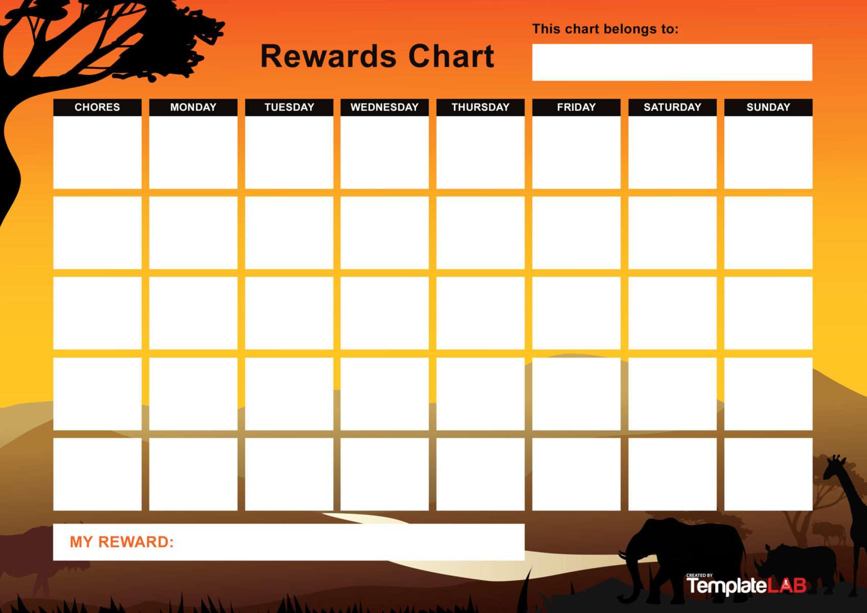 Free Rewards Chart 06