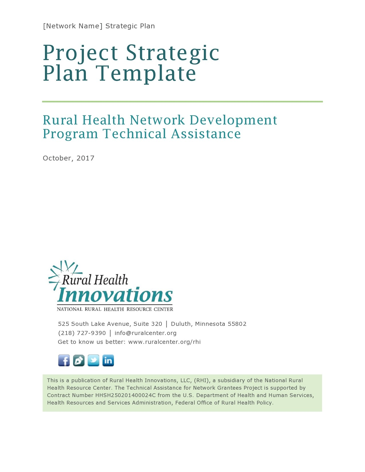 Free 5 year plan template 18