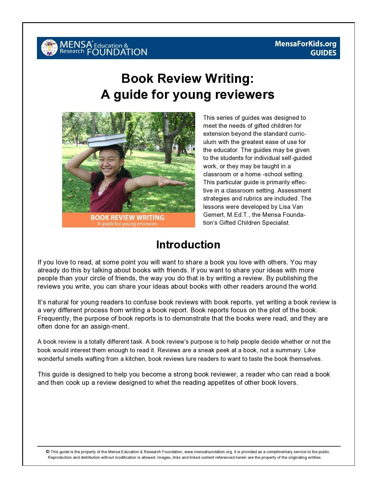 Free book review template 13