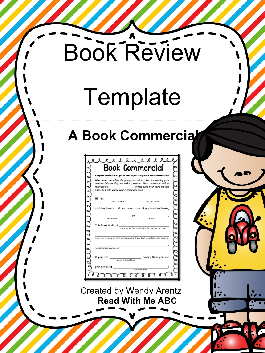 Free book review template 42