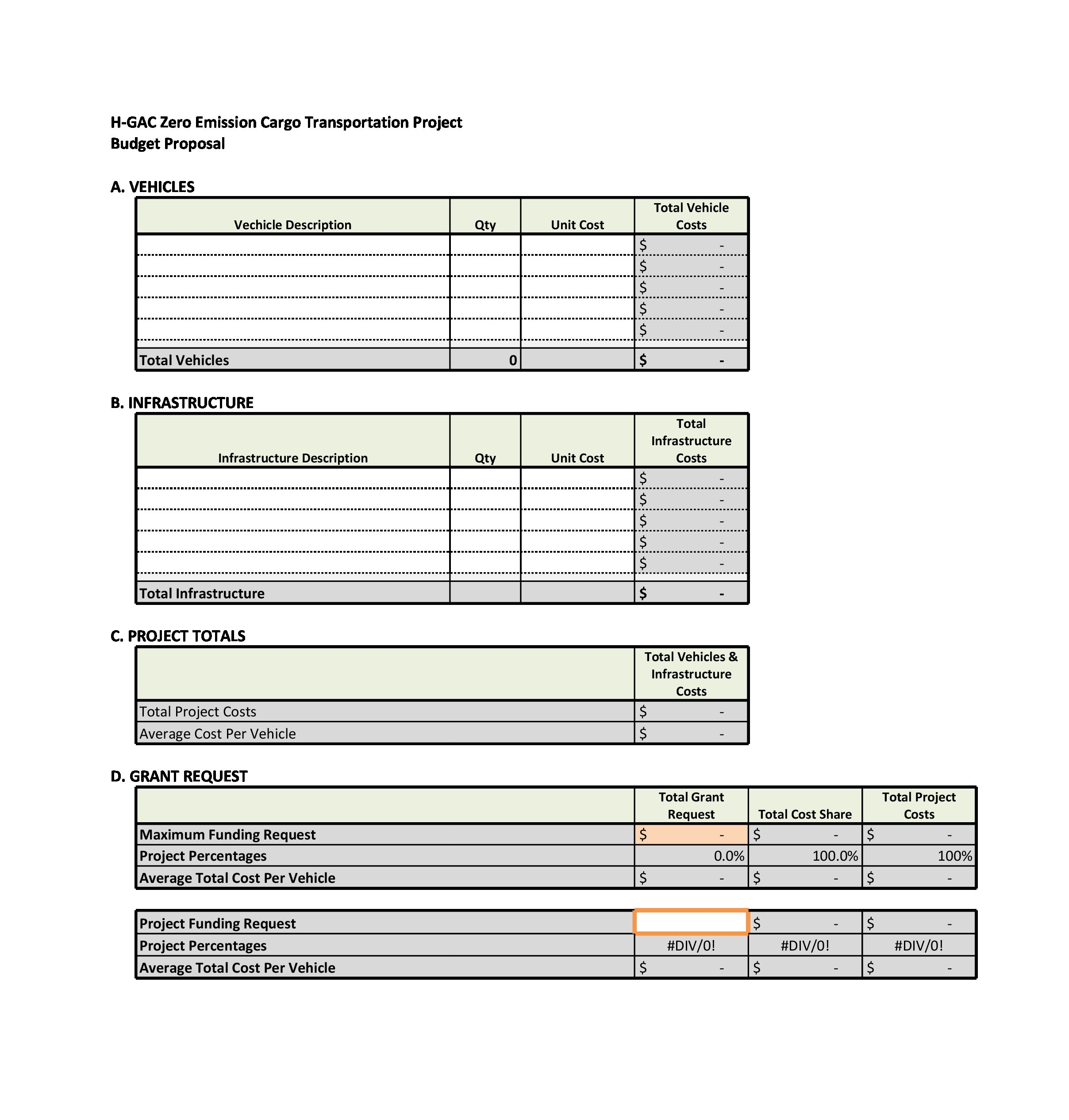 Free budget proposal template 05