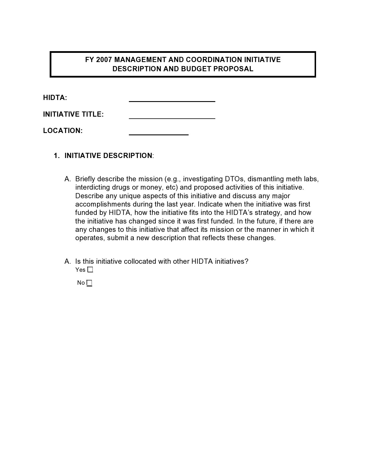 Free budget proposal template 15