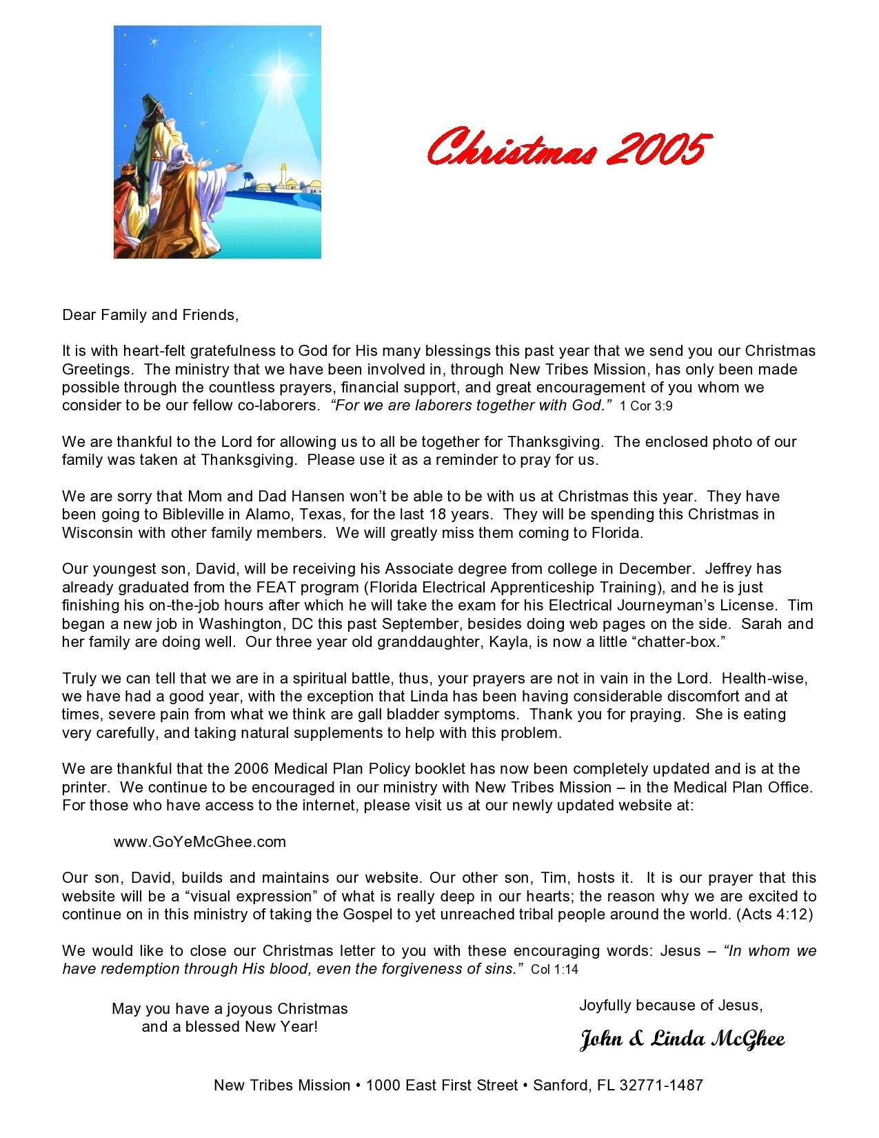 Free christmas letter template 42