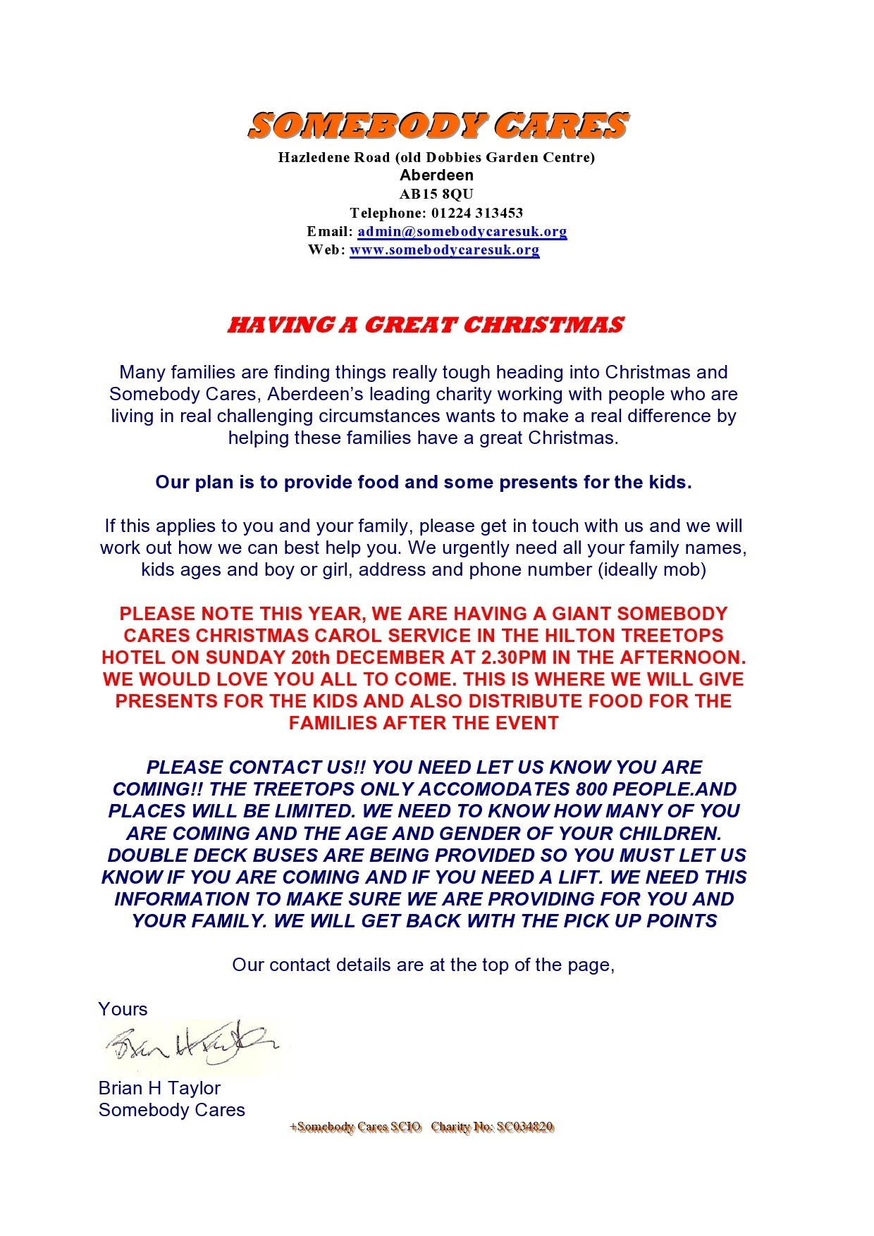 Free christmas letter template 43