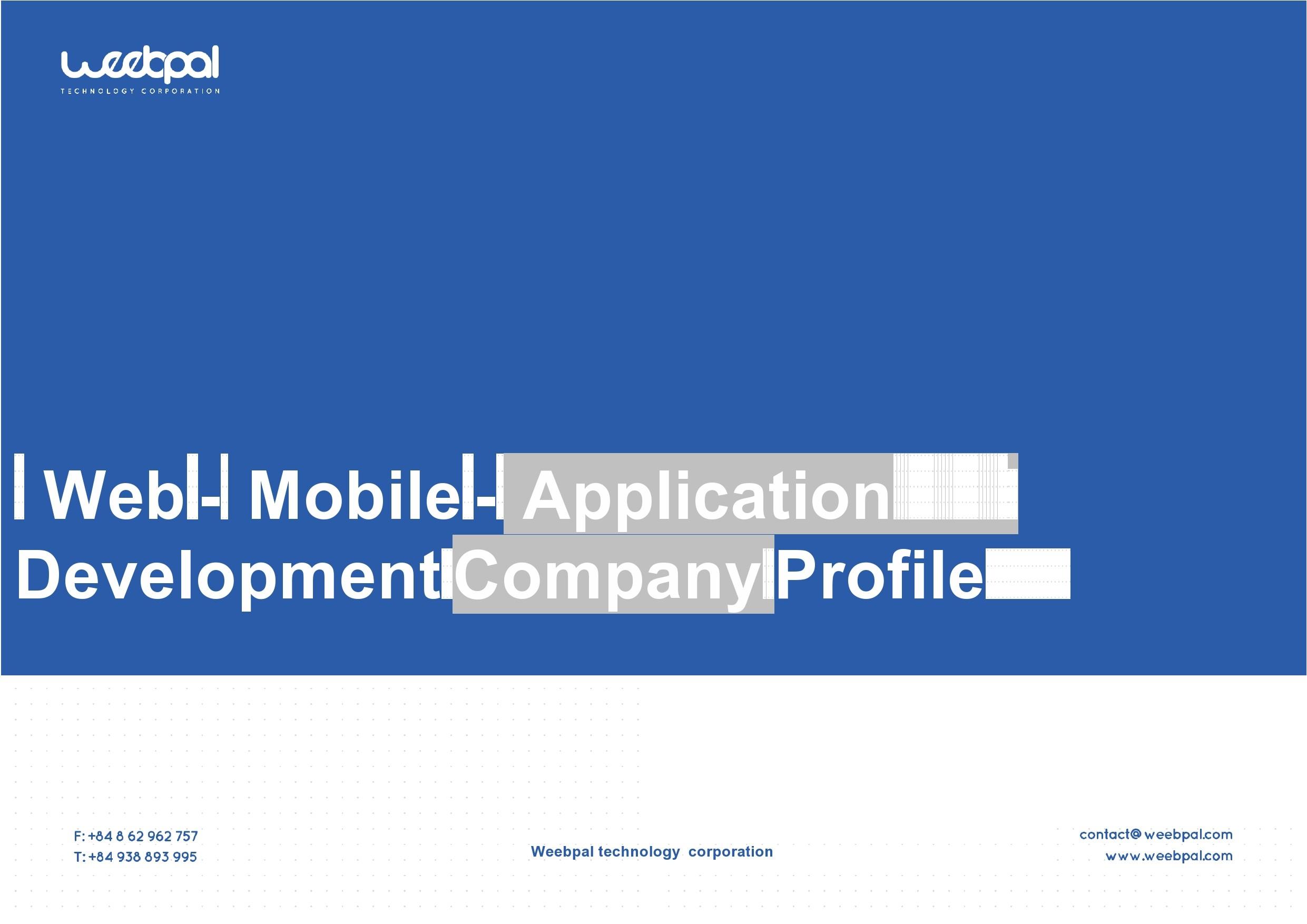 Free company profile template 17