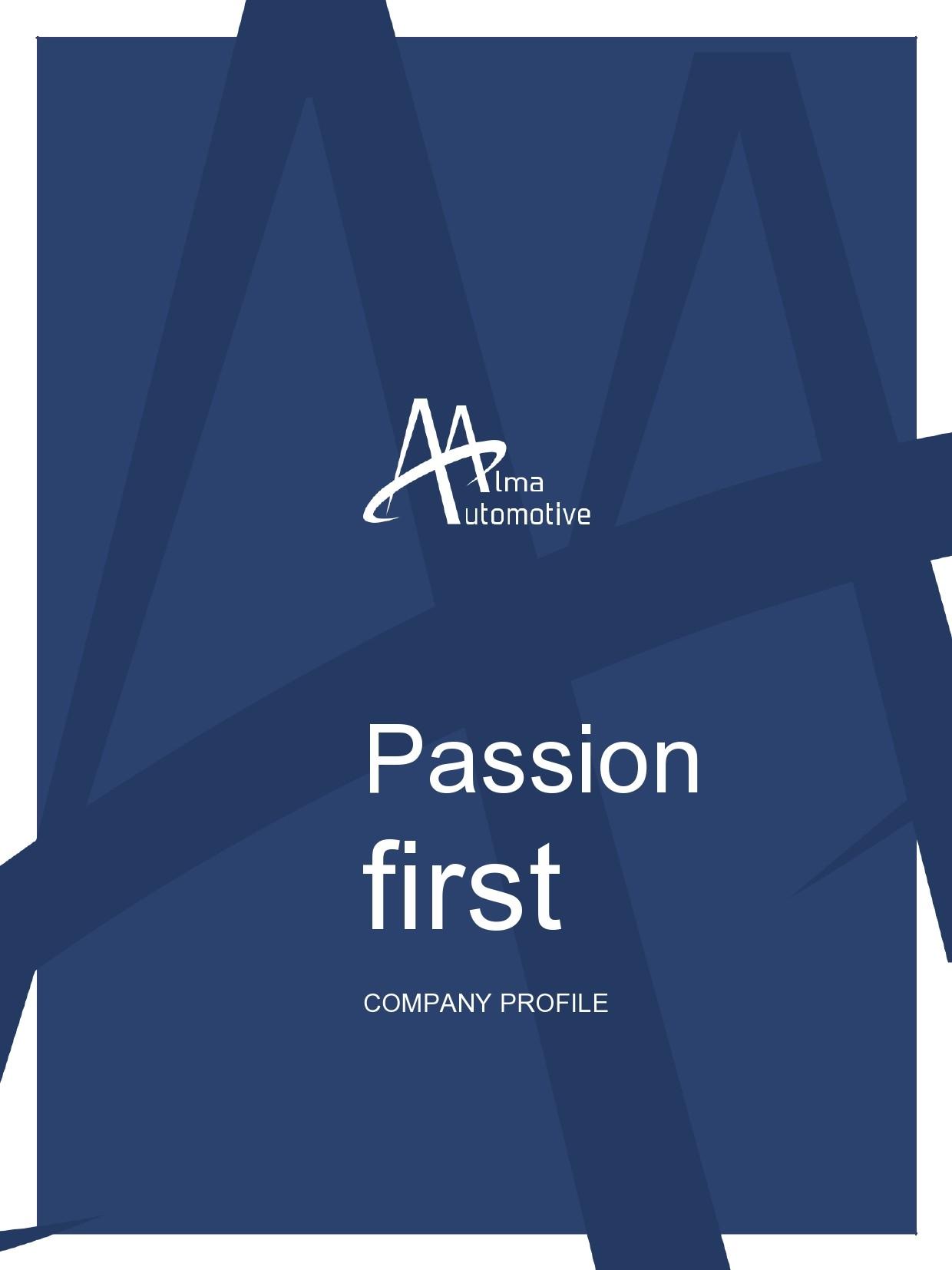 Free company profile template 18