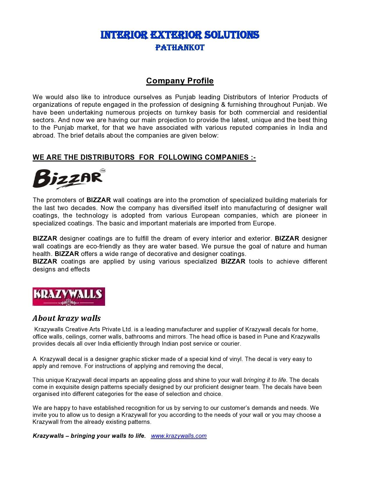 Free company profile template 31