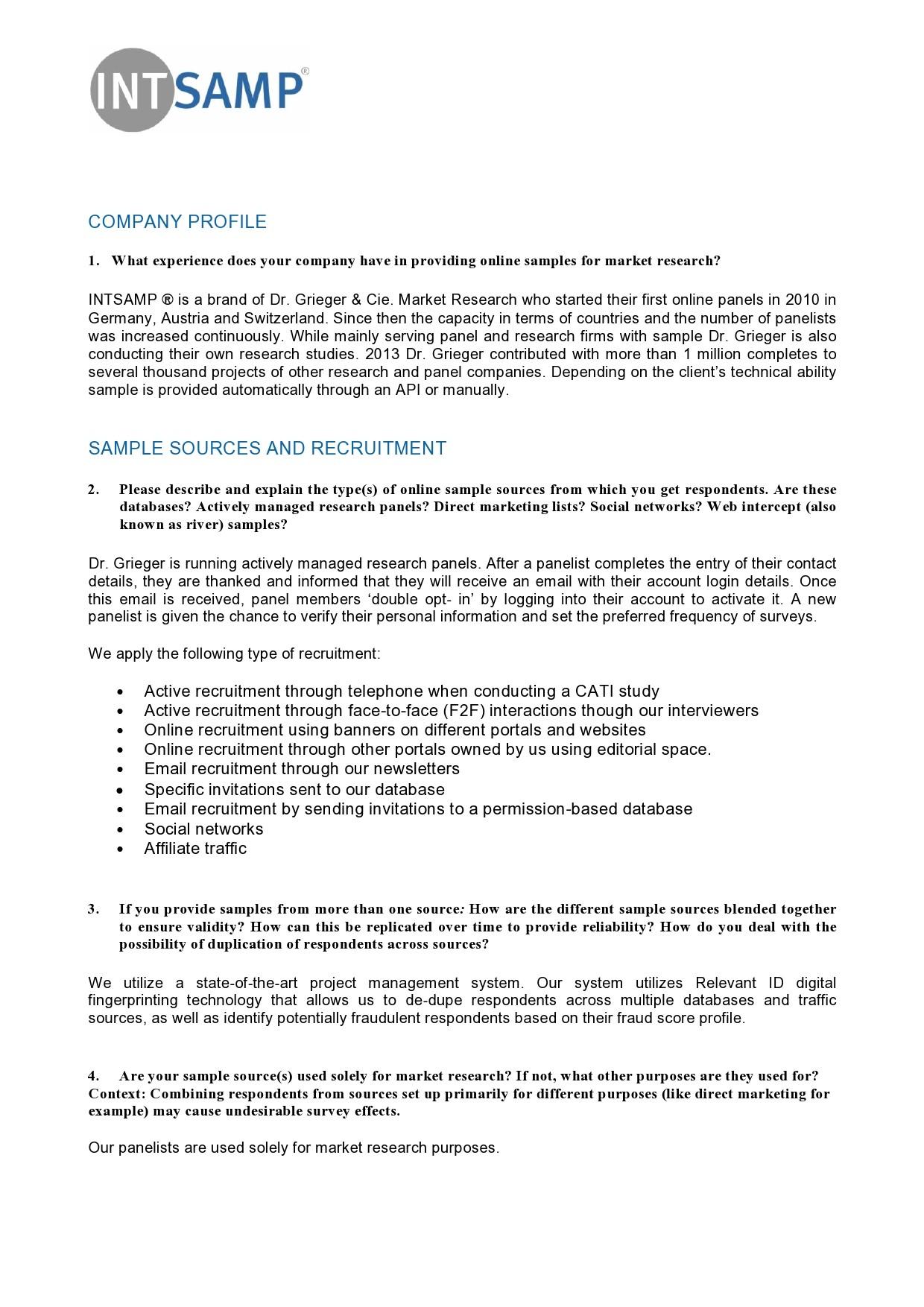 Free company profile template 38