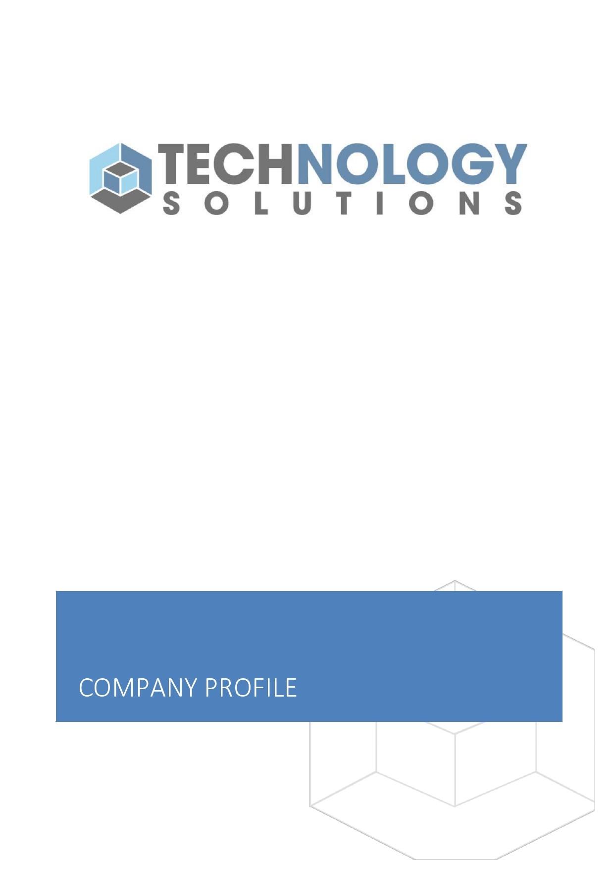 Free company profile template 39