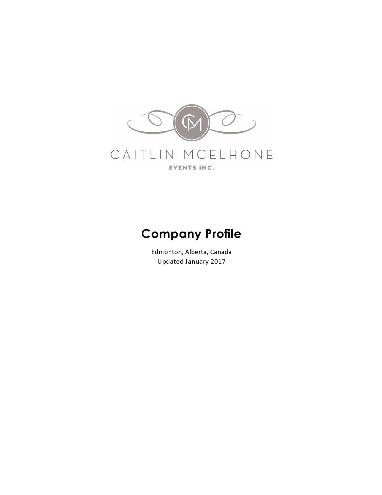 Free company profile template 49