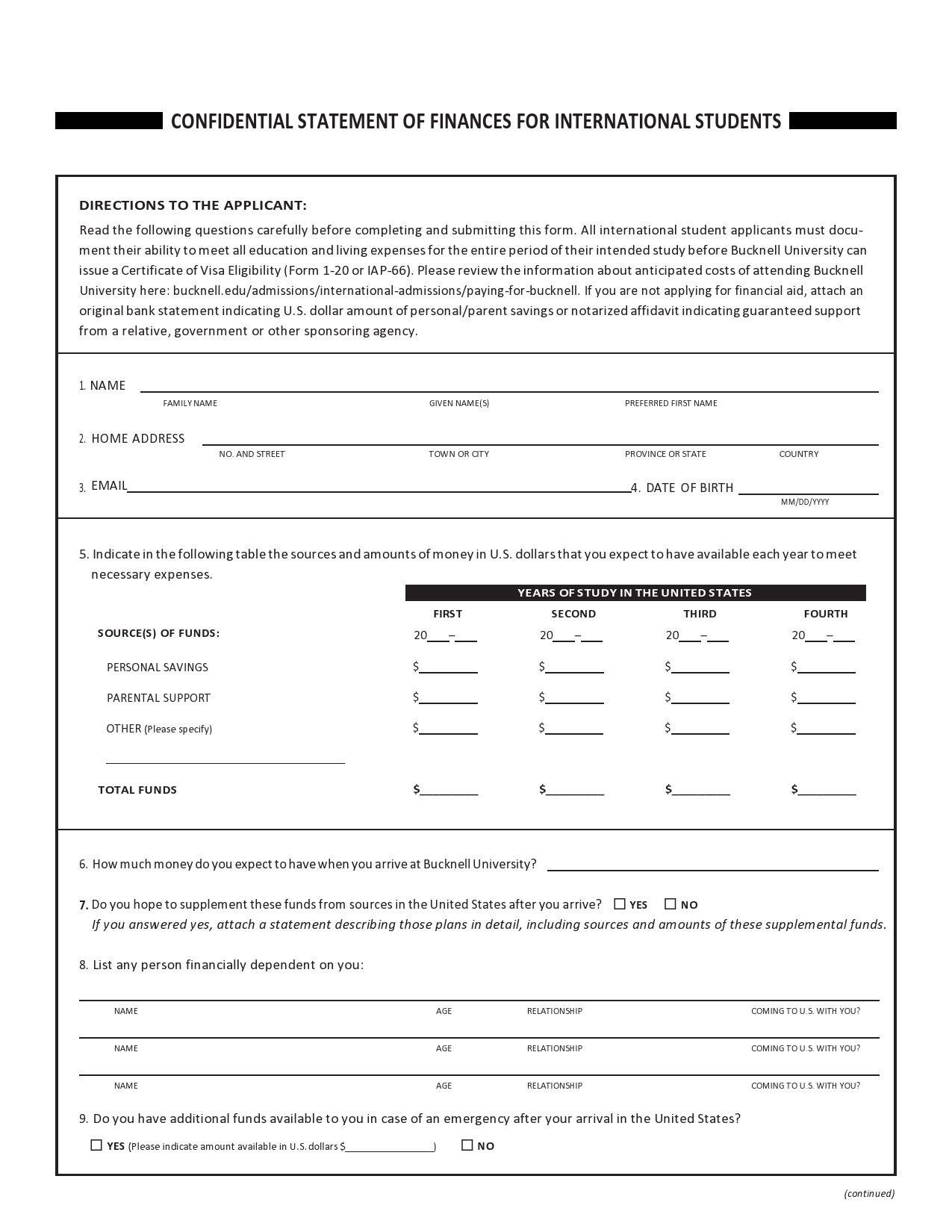 Free confidentiality statement 30