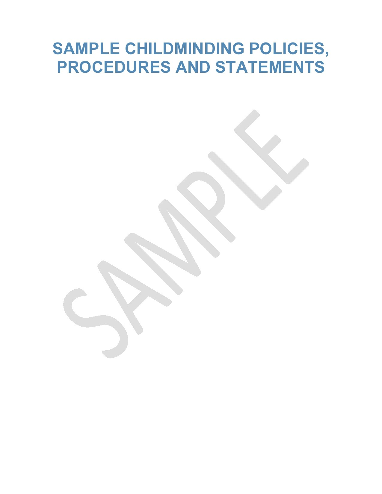 Free policy and procedure template 19