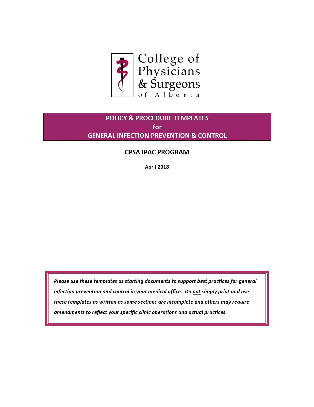 Free policy and procedure template 25