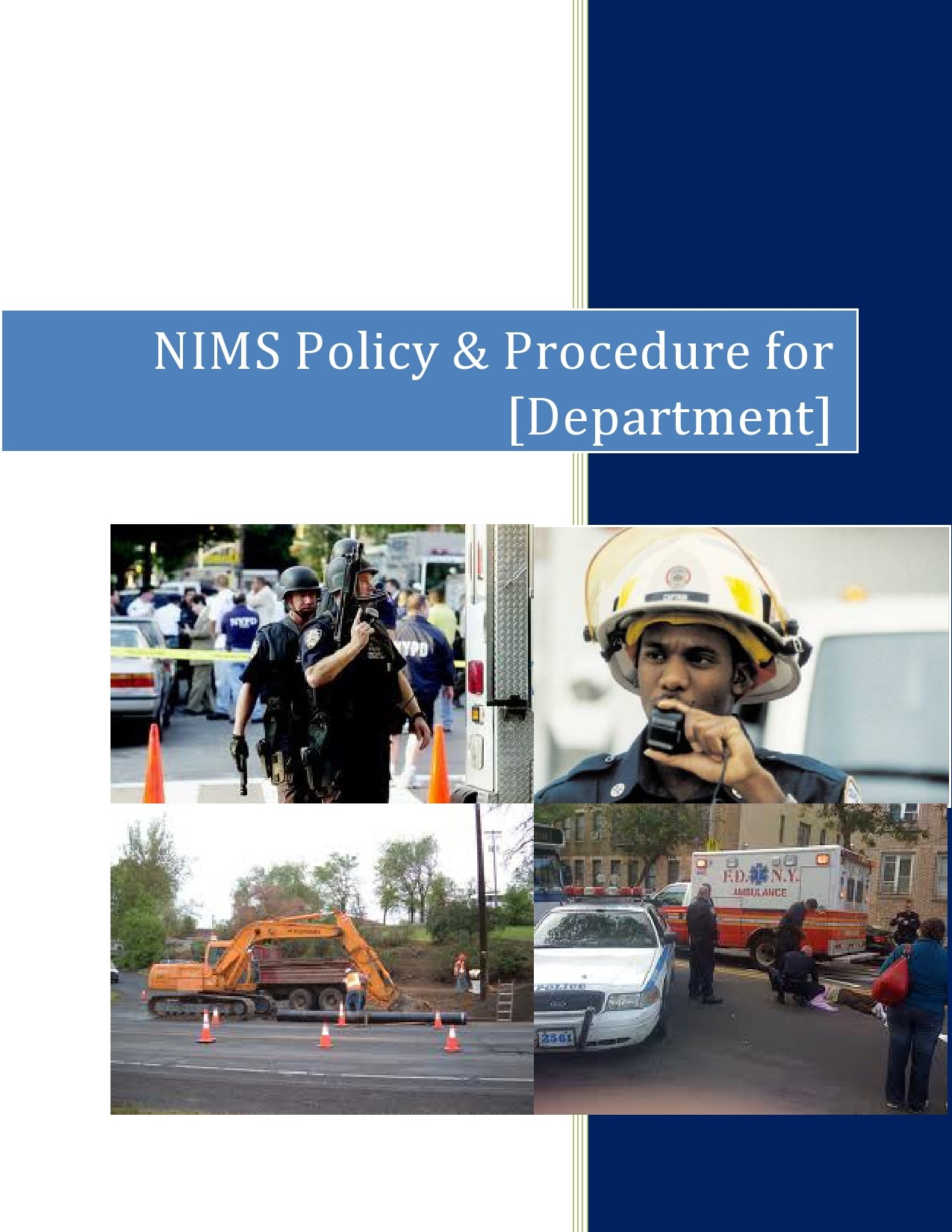 Free policy and procedure template 37