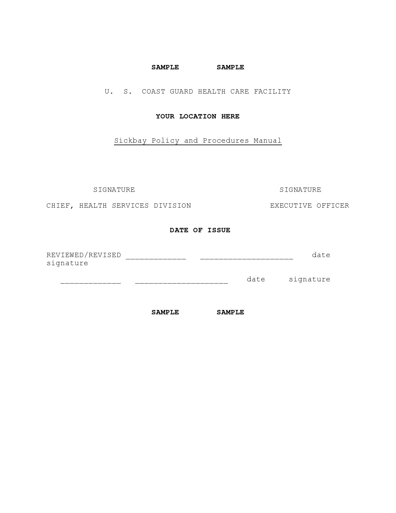 Free policy and procedure template 40