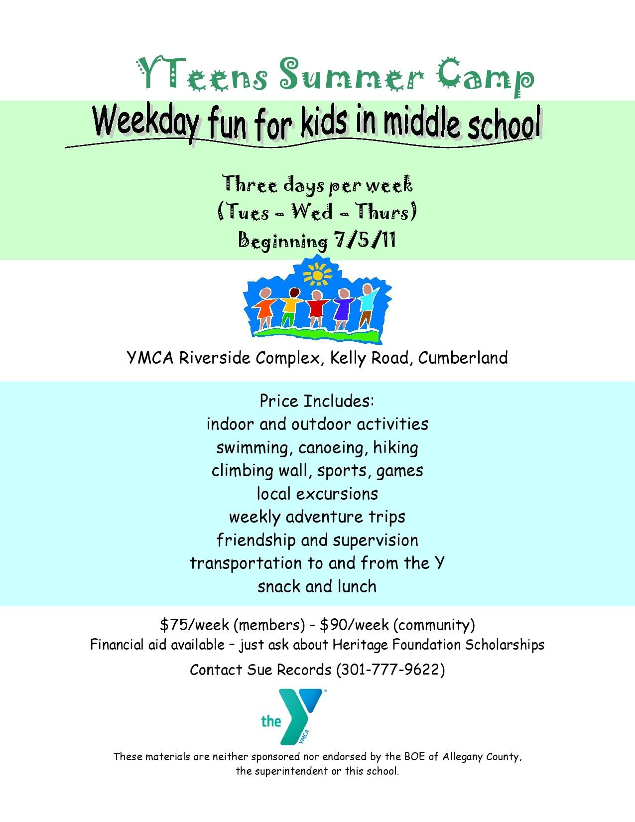 Free summer camp flyer 04