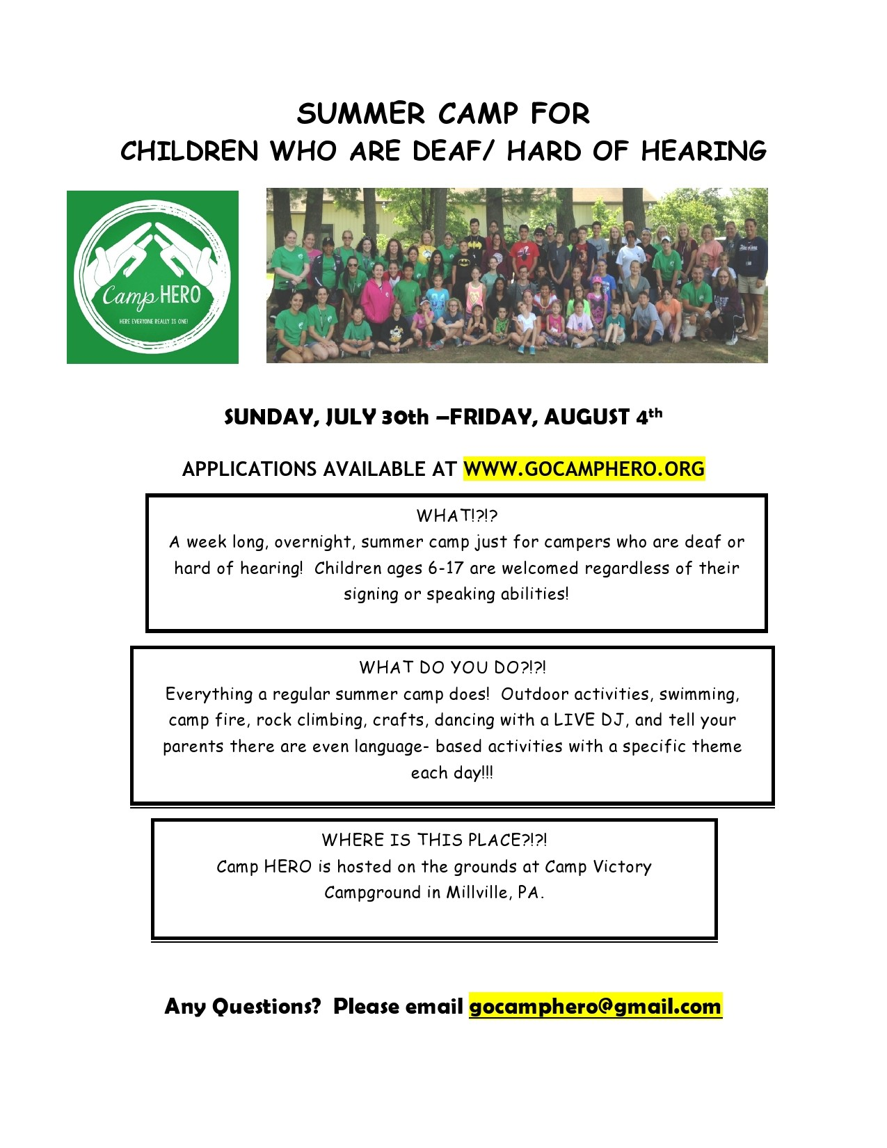 Free summer camp flyer 06