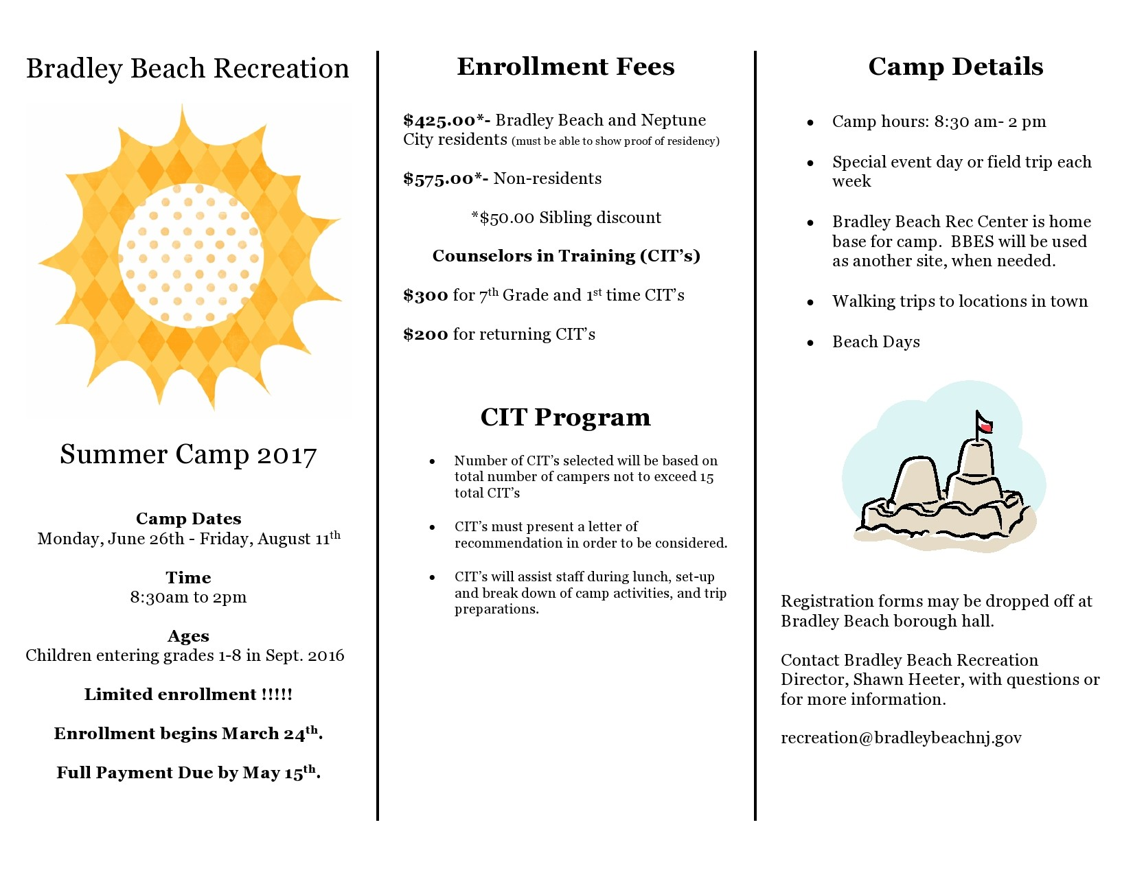 Free summer camp flyer 07