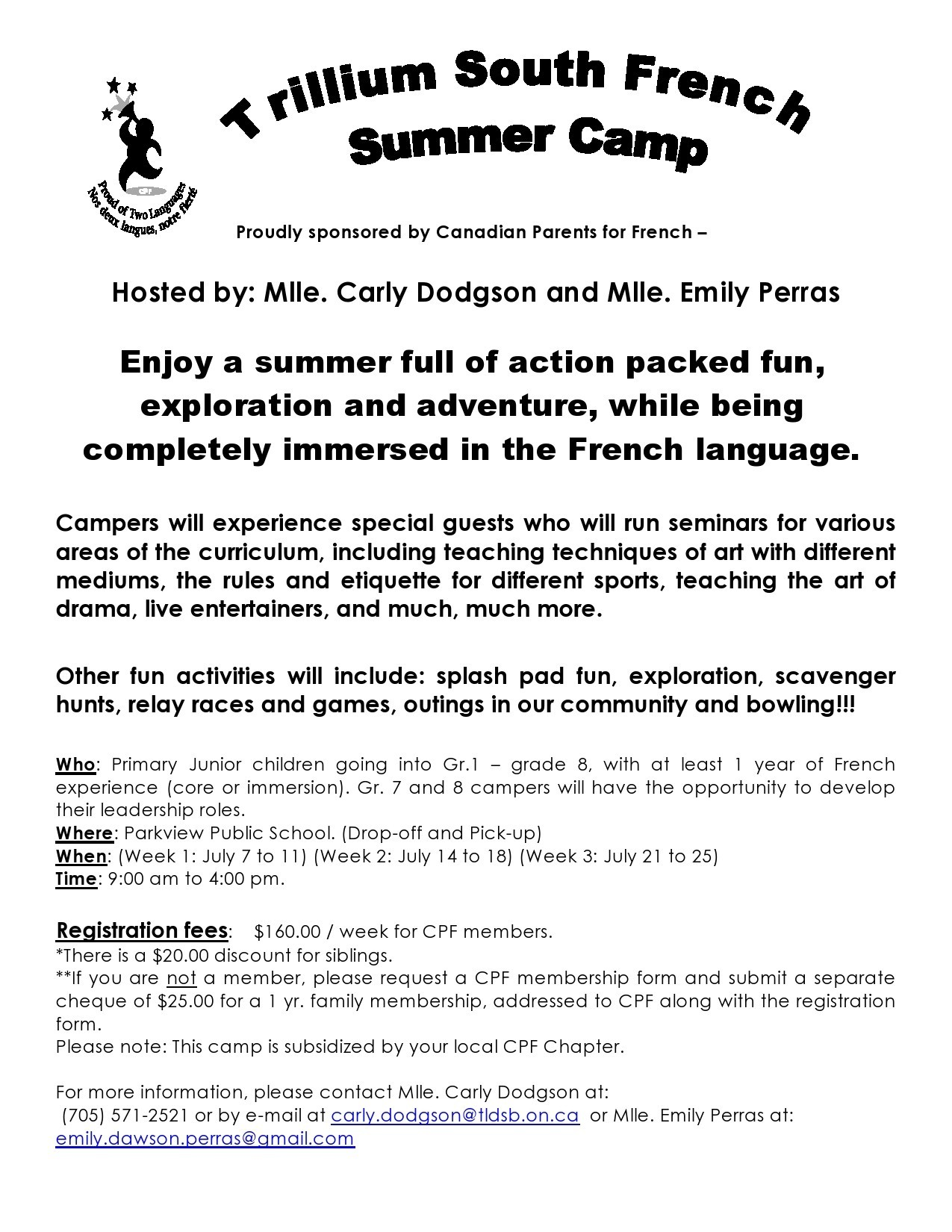 Free summer camp flyer 09