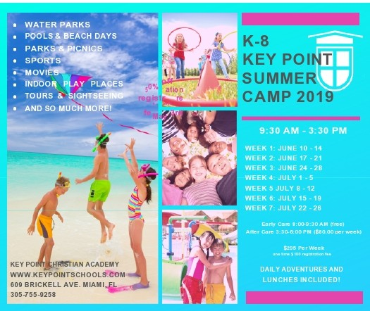 Free summer camp flyer 14