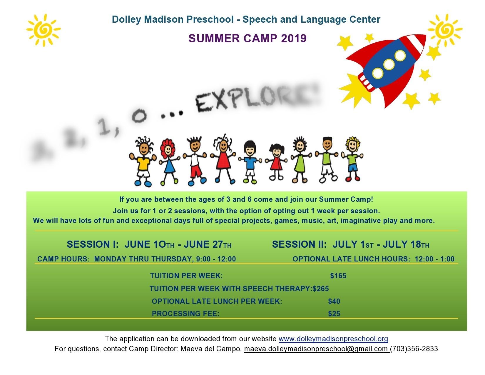 Free summer camp flyer 17